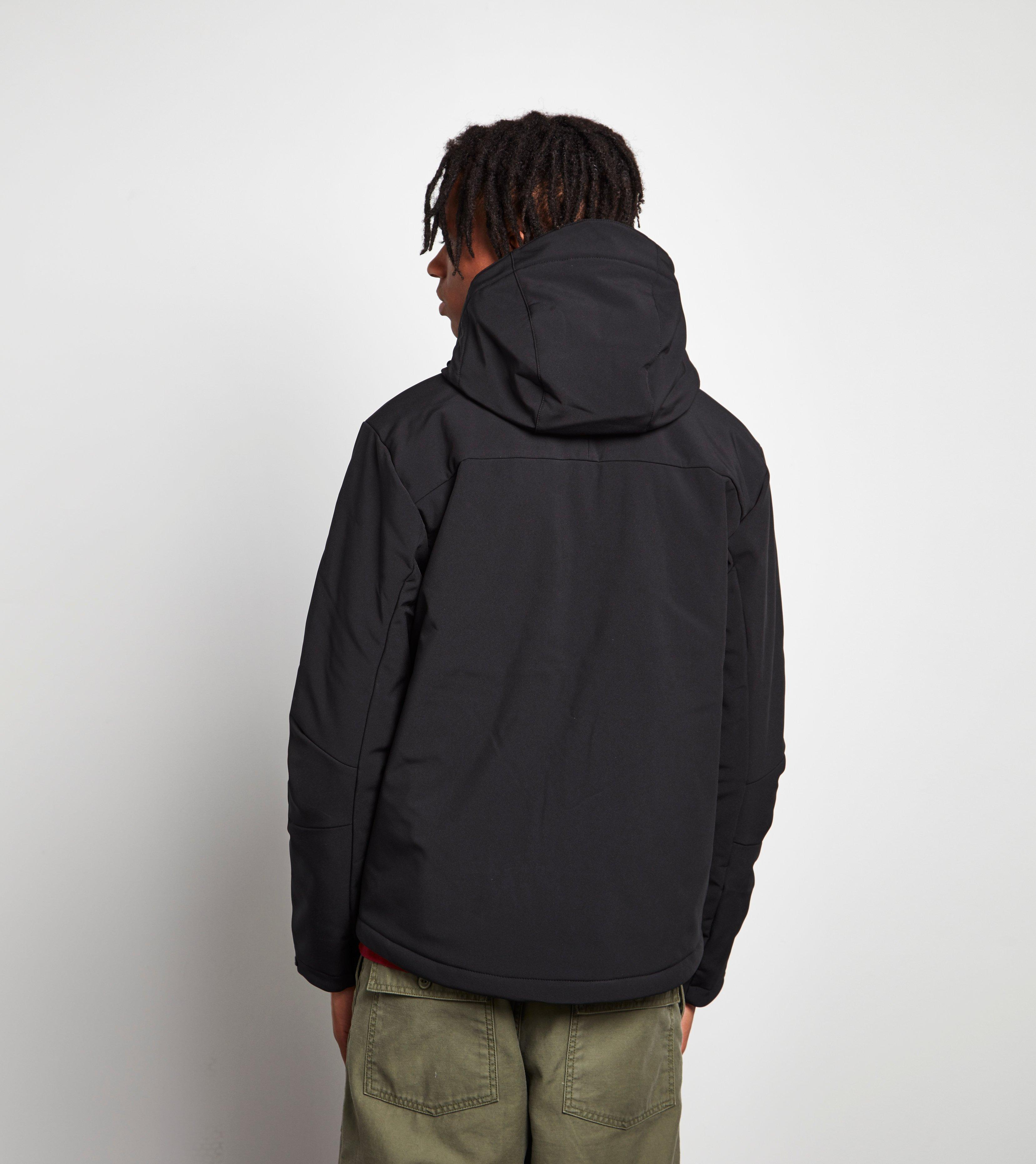 lyst helly hansen paramount insulated softshell jacket in black for men. Black Bedroom Furniture Sets. Home Design Ideas