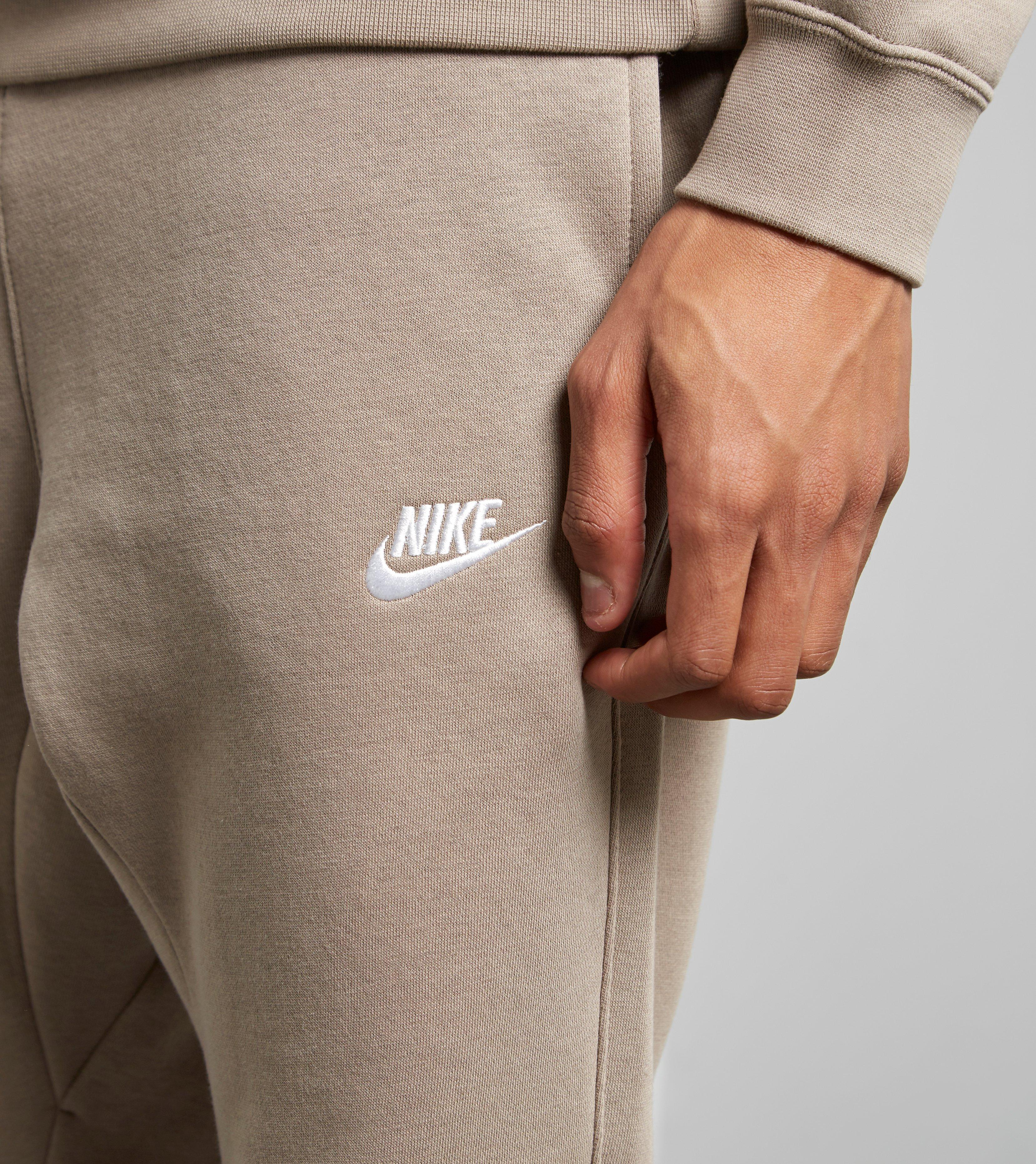 ded8a680b1c73 Nike Foundation Cuffed Fleece Pants in Natural for Men - Lyst