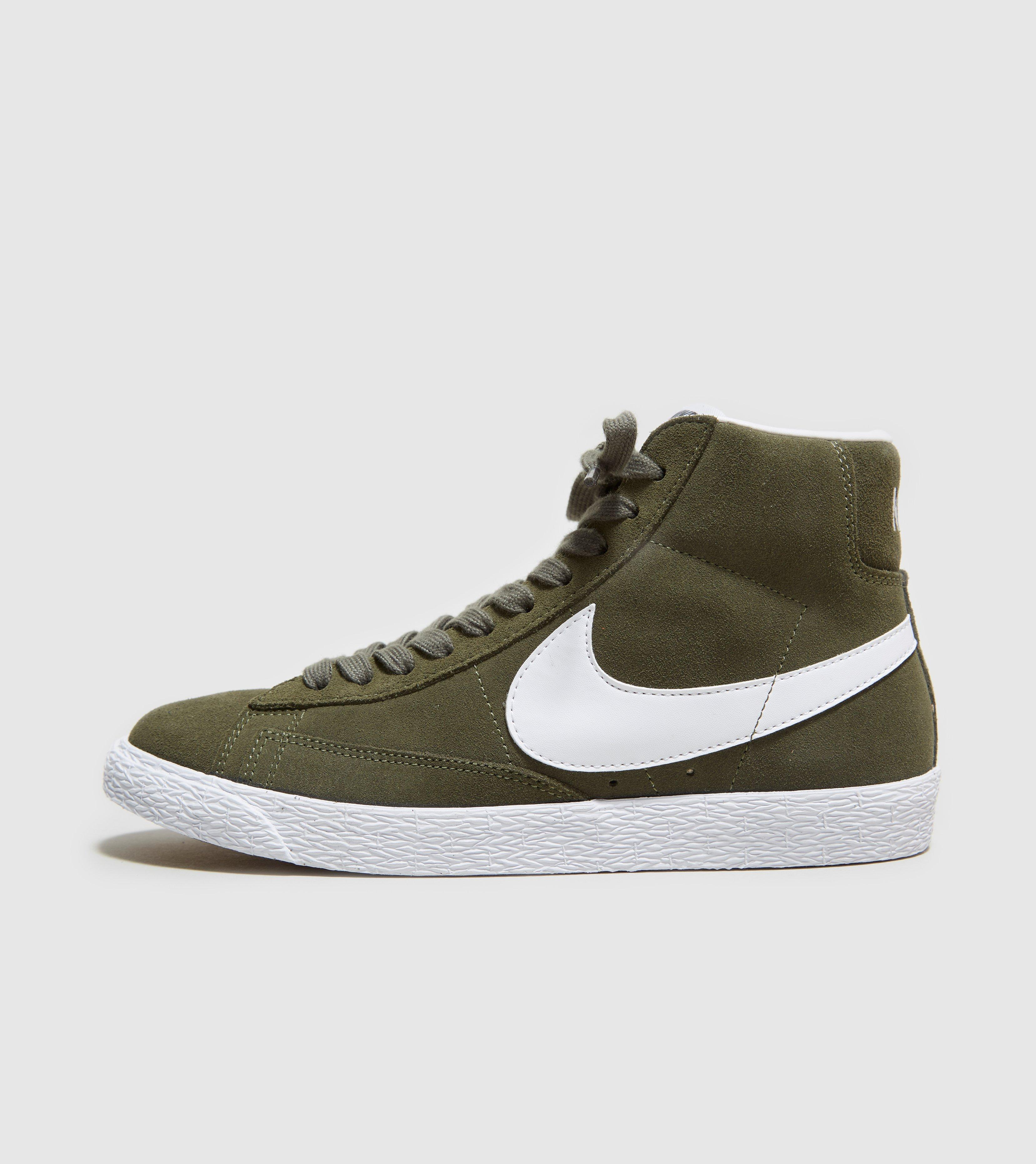 best website 9c69f 97065 Lyst - Nike Blazer Mid Suede in Green