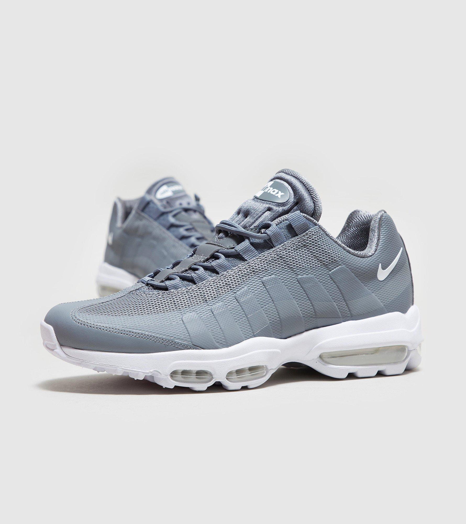 lyst nike air max 95 ultra essential in gray for men. Black Bedroom Furniture Sets. Home Design Ideas