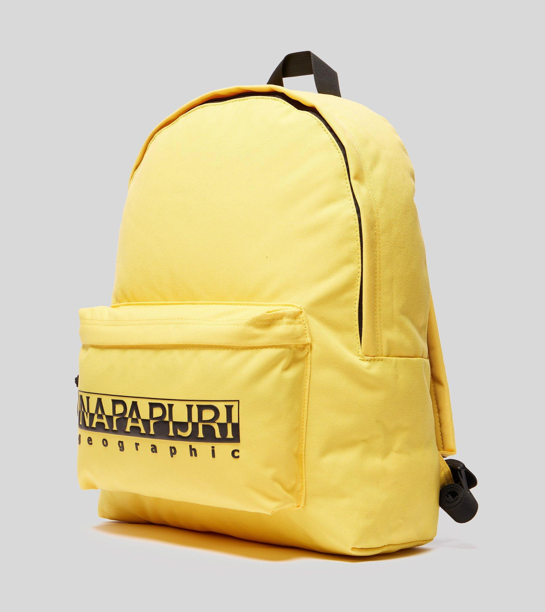 Napapijri Hala Backpack in Yellow for Men - Lyst