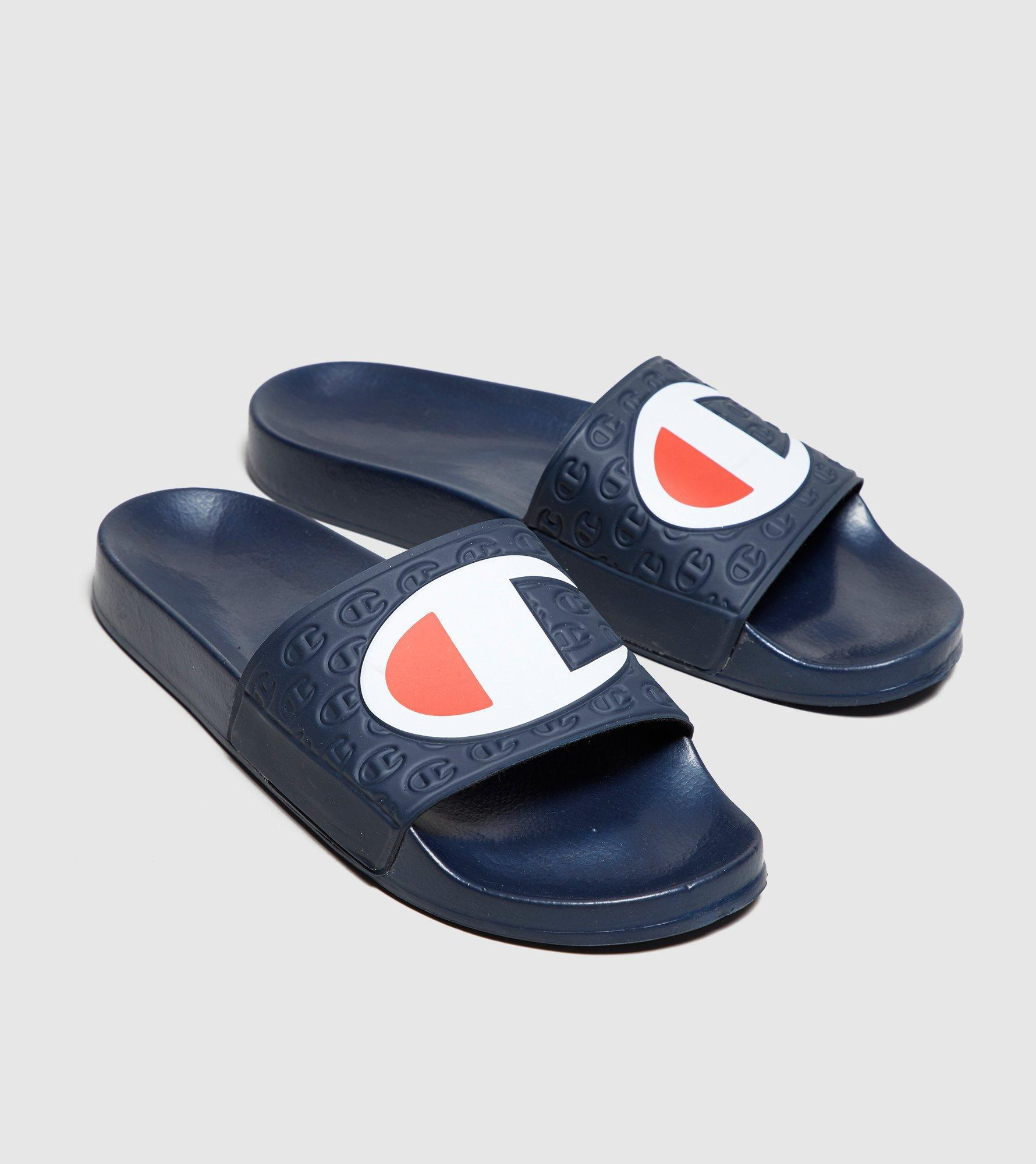 a488c7db8d7e4 Lyst - Champion Multi Lido Slides in Blue