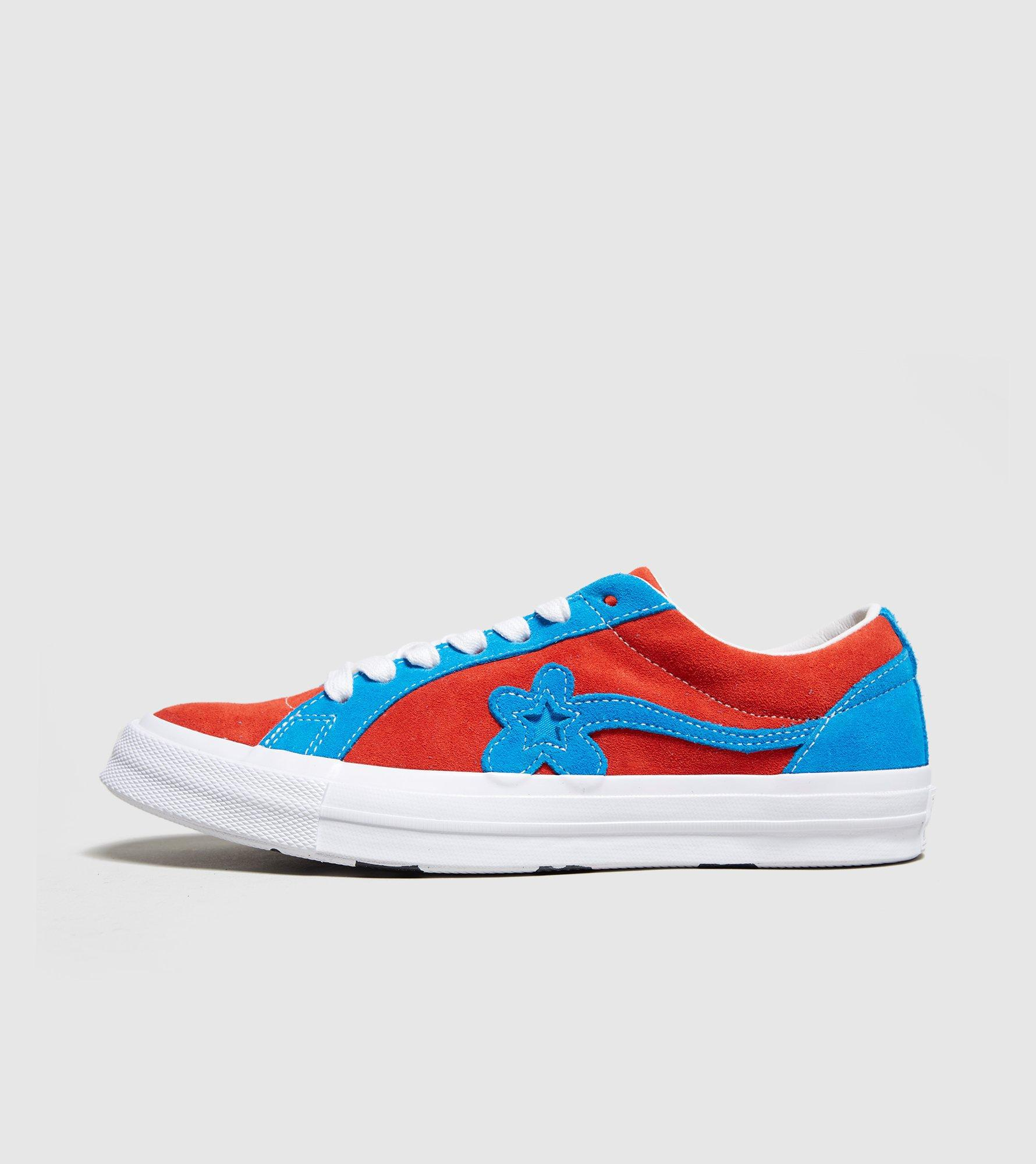 d7834c5dd475 Lyst - Converse X Tyler Golf Le Fleur One Star in Red for Men