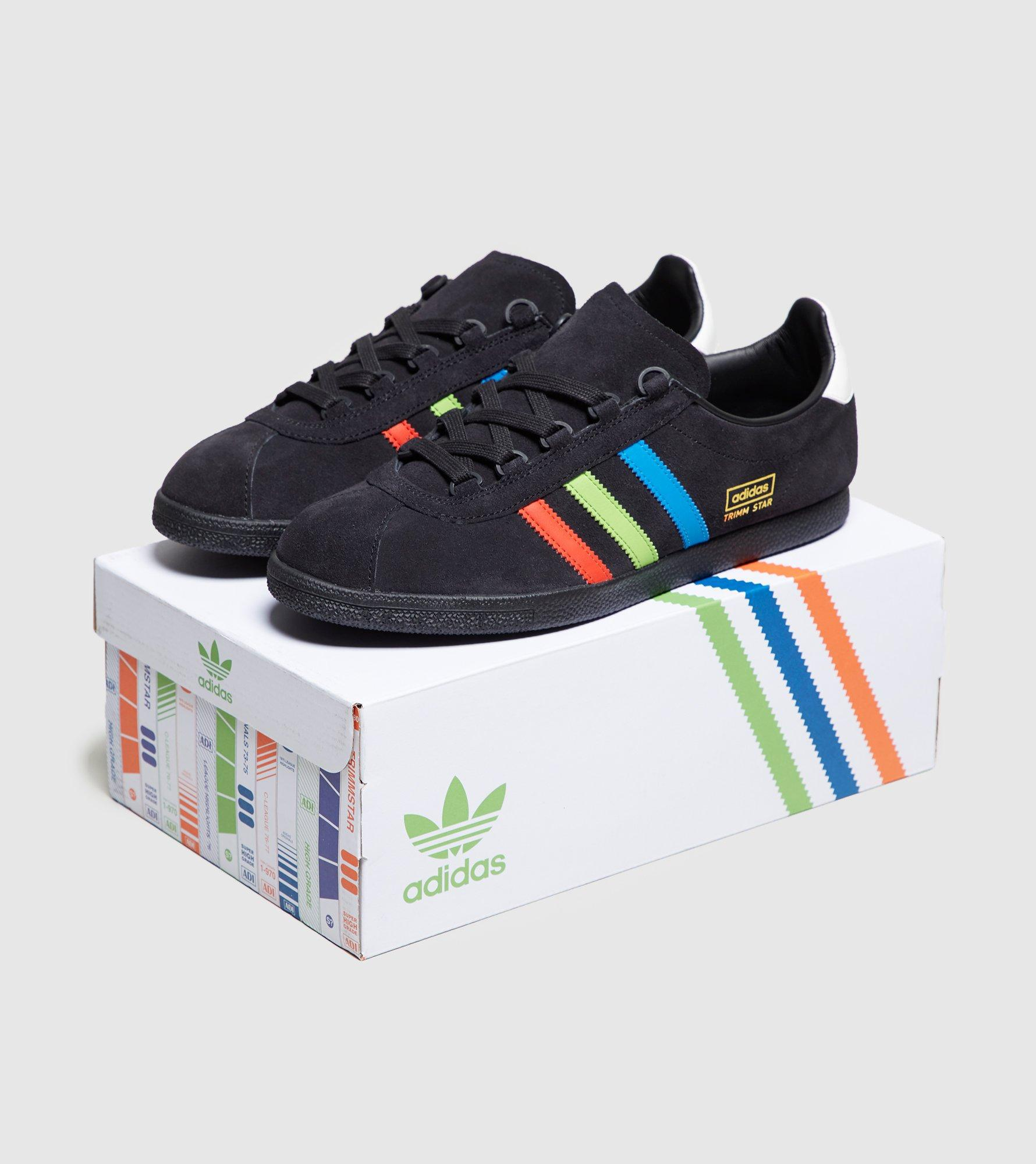 adidas Originals Trimm Star  vhs  - Size  Exclusive in Black for Men ... b1b18633d