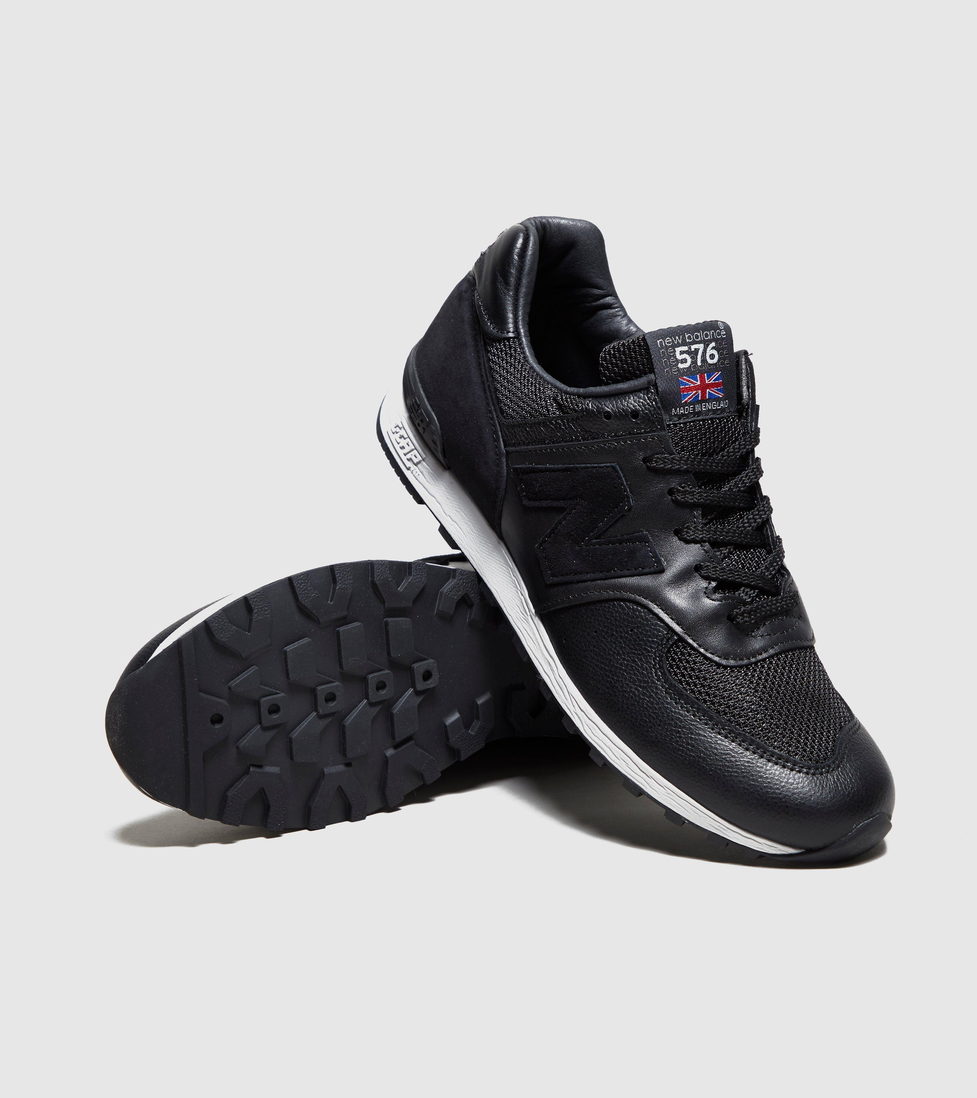 reputable site b0b0b 4a506 ... spain lyst new balance 576 premium leather in black for men 9067e 081d4