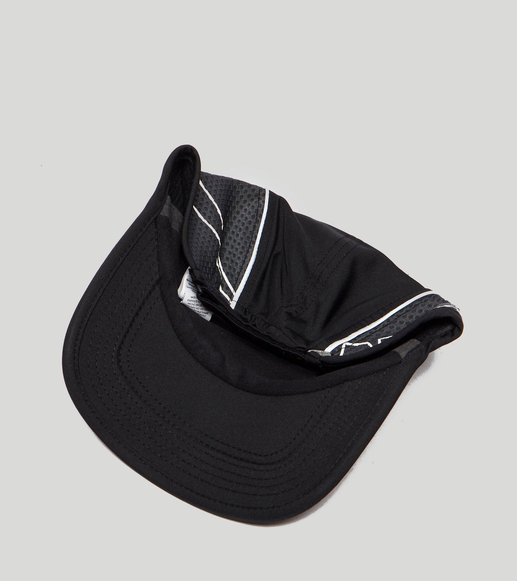 a29503a8606 Lyst - Nike Run Swoosh Curved Peak Cap in Black for Men