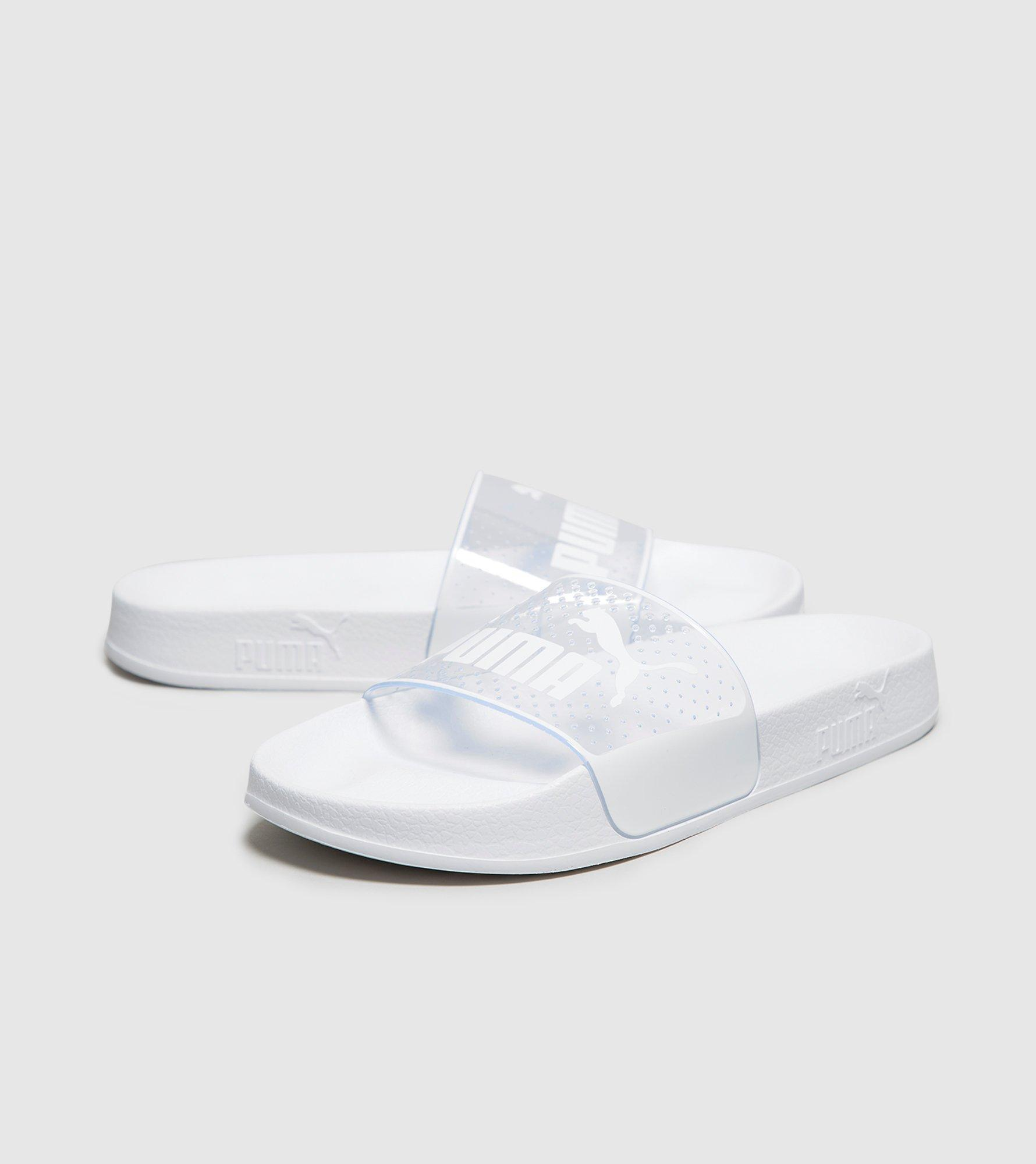 PUMA Leadcat Jelly Slides Women s in White - Lyst 304aa5abc