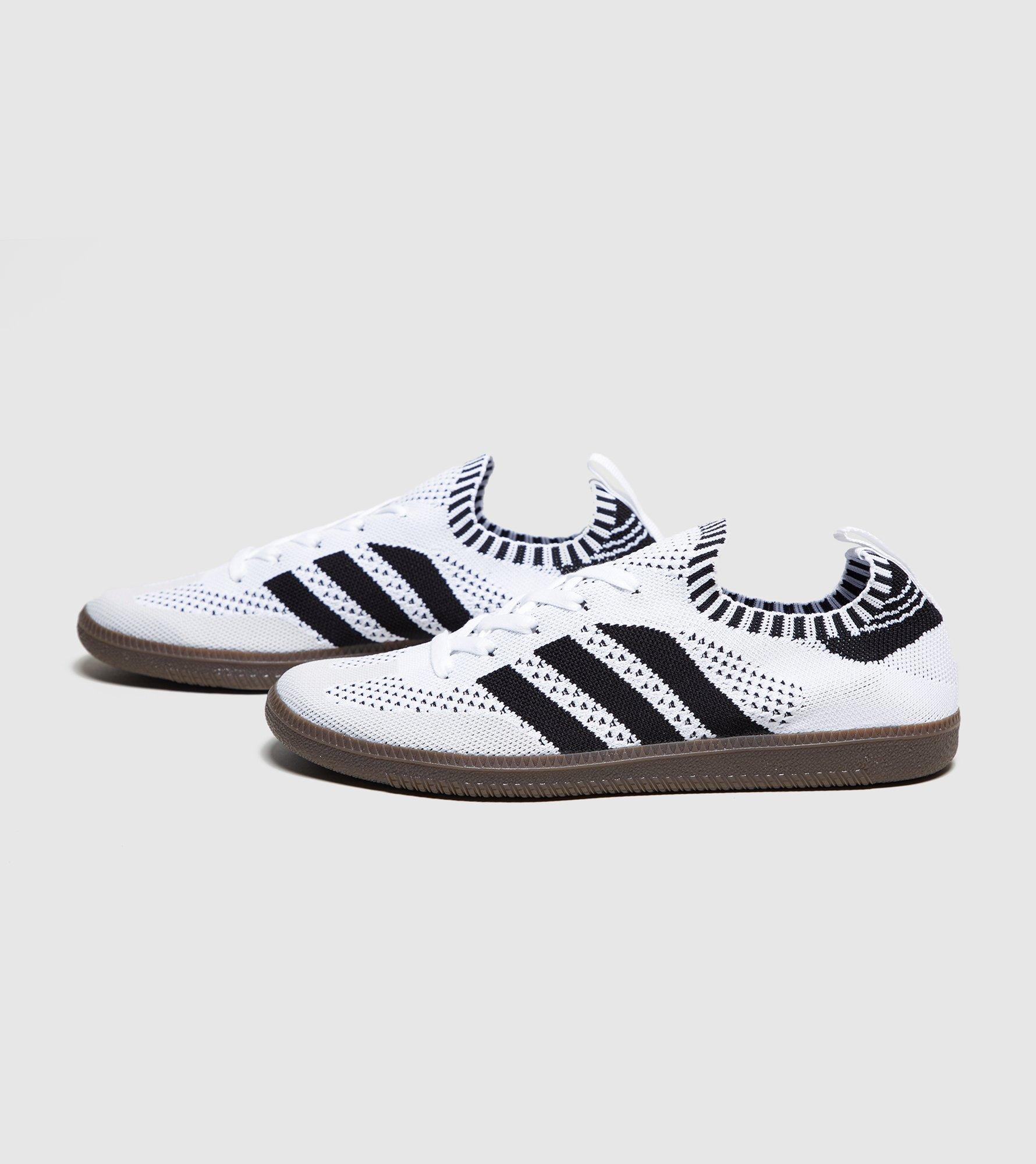 adidas Originals Samba Primeknit in White for Men - Lyst ddef7d82e