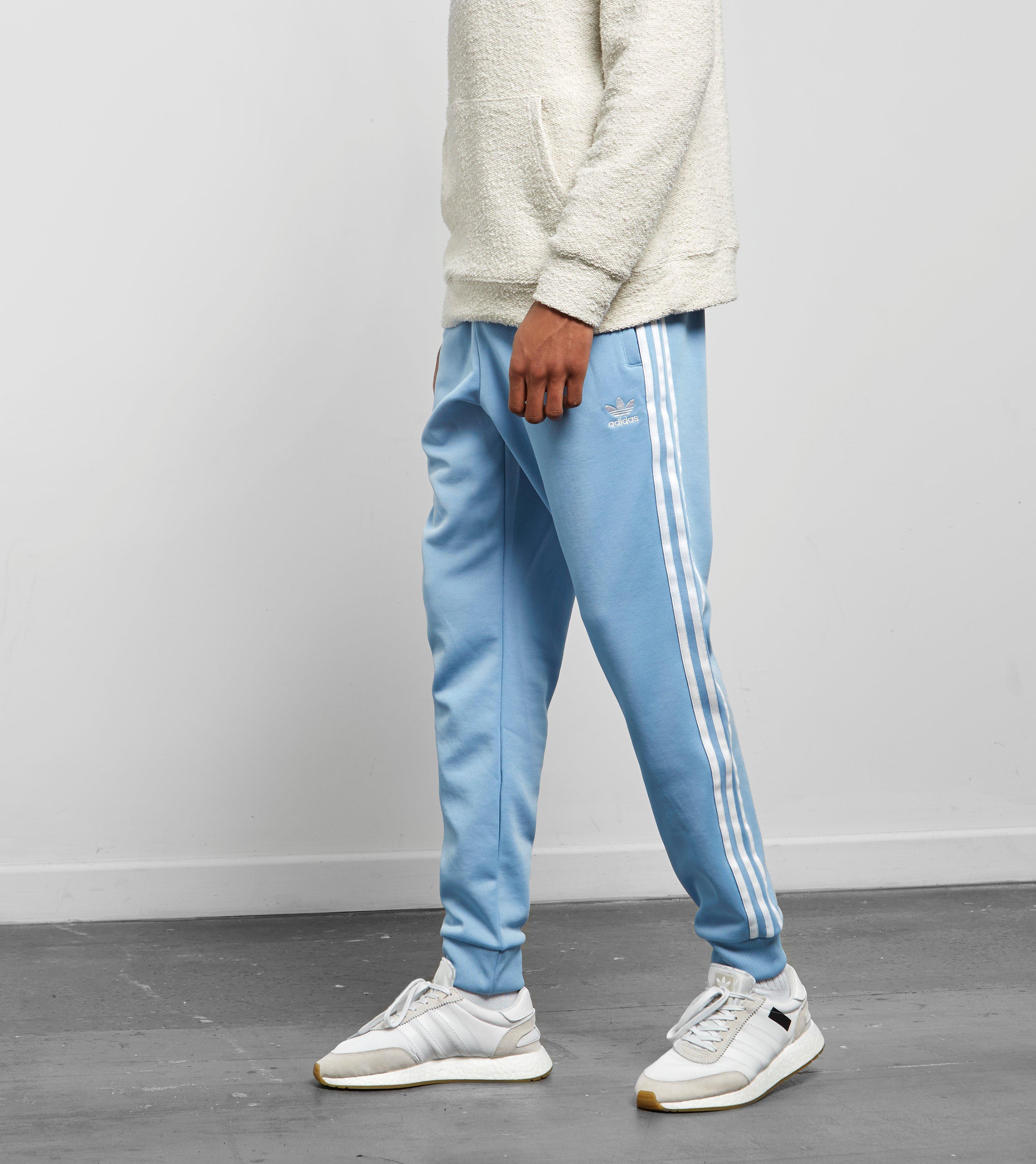 b1a14924595c Lyst - adidas Originals Superstar Track Pants in Blue for Men