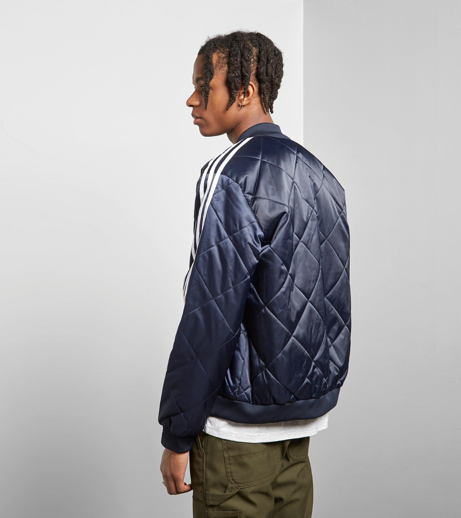 211f2dfb632e Lyst Adidas Originals Sst Quilted Jacket In Blue For Men