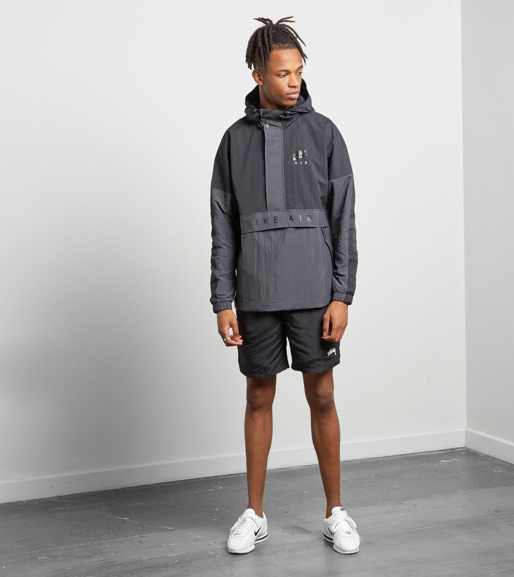 ac3743c32811d2 Nike Air Half-zip Jacket in Black for Men - Lyst