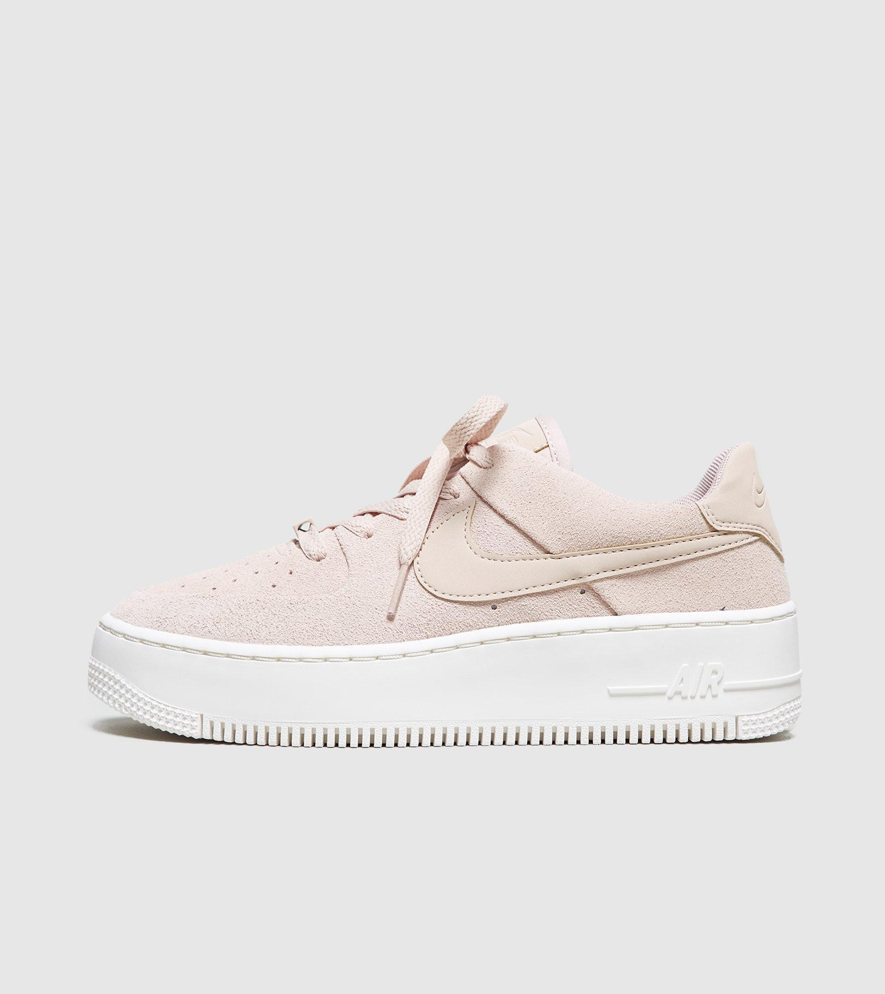 7cf85f34e Lyst - Nike Air Force 1 Sage Low Women s in Natural