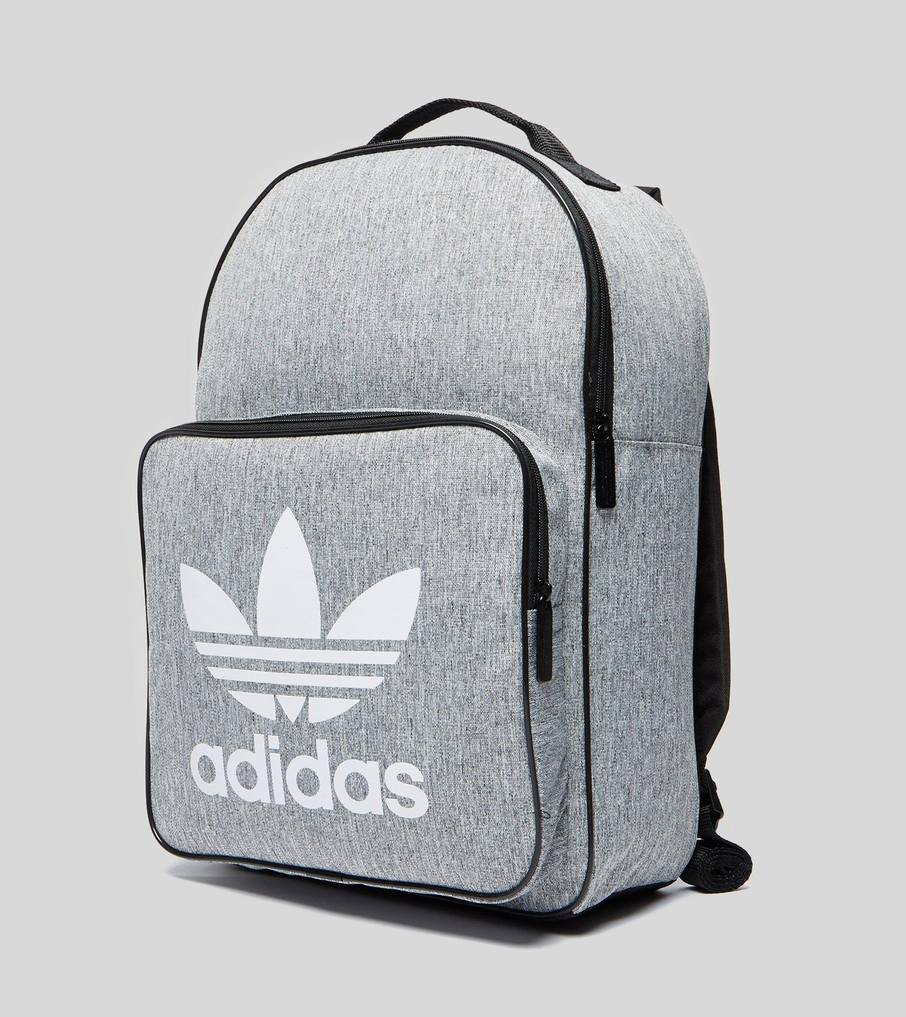 c3a46fc20 adidas Originals Classic Trefoil Backpack in Gray for Men - Lyst
