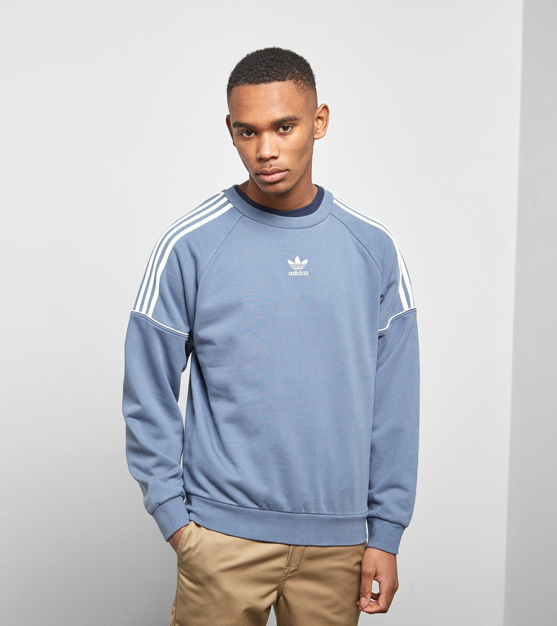Men Originals Adidas Pipe Lyst Sweatshirt In Crew For Blue z8T7wq