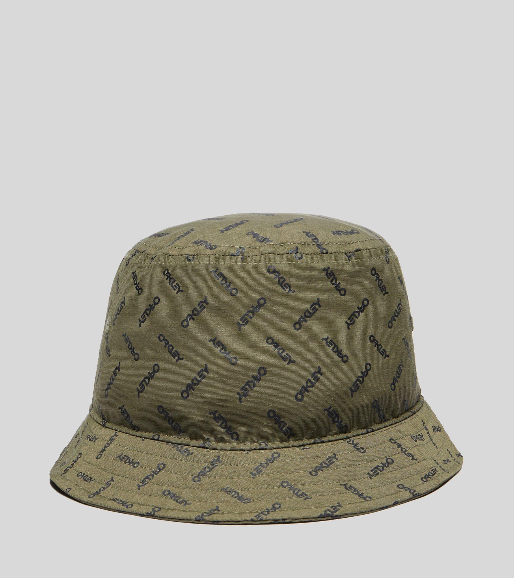 ... purchase lyst oakley logo bucket hat in green for men 7375e 16082 ... be577467d591