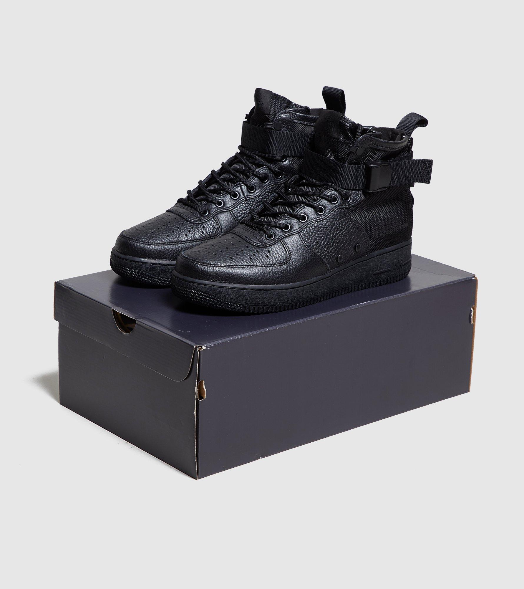 Nike Sf Air Force 1 Mid in Black for Men - Lyst 6aa15b172