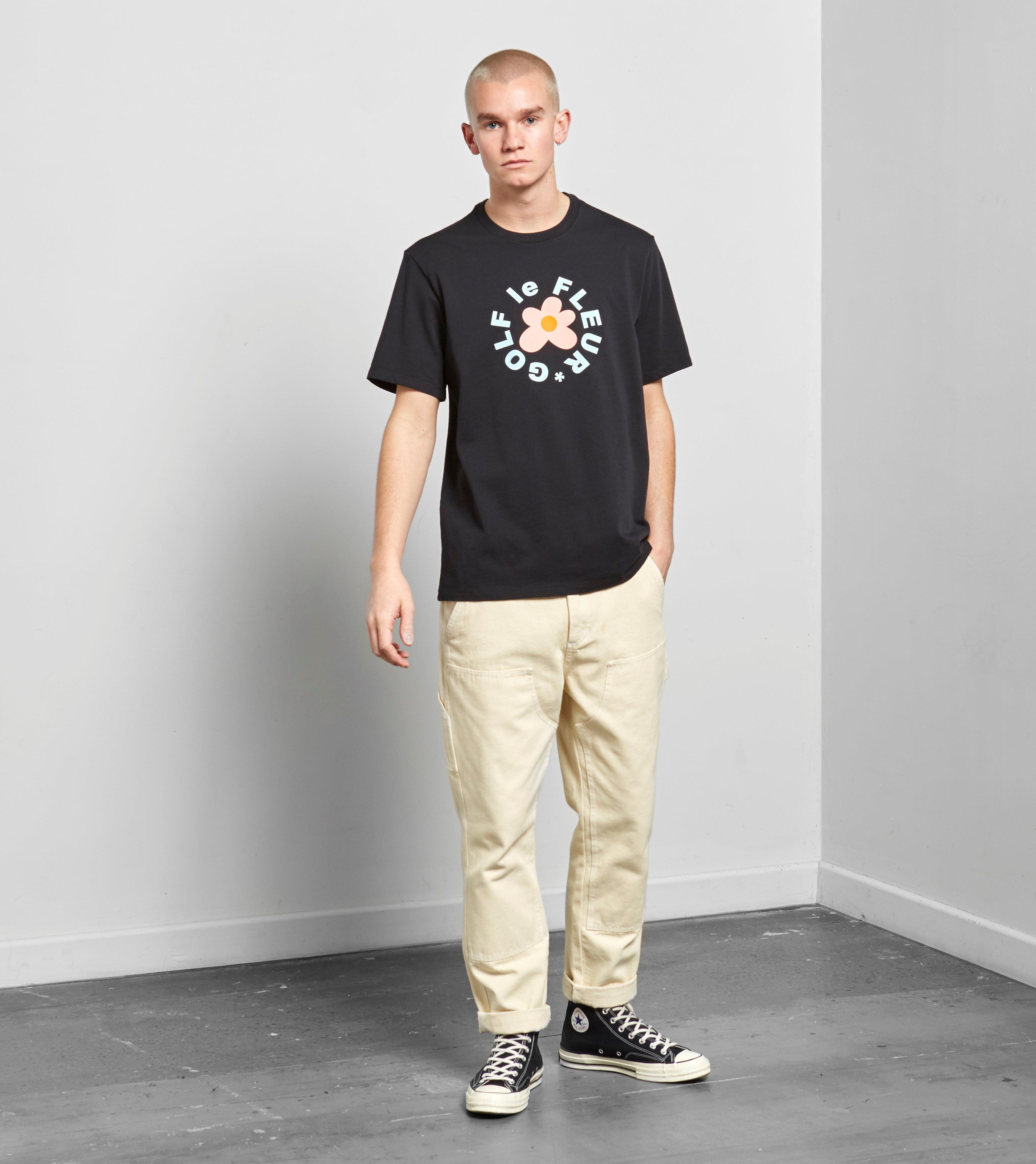 Lyst Converse X Tyler Golf Le Fleur T Shirt In Black For Men