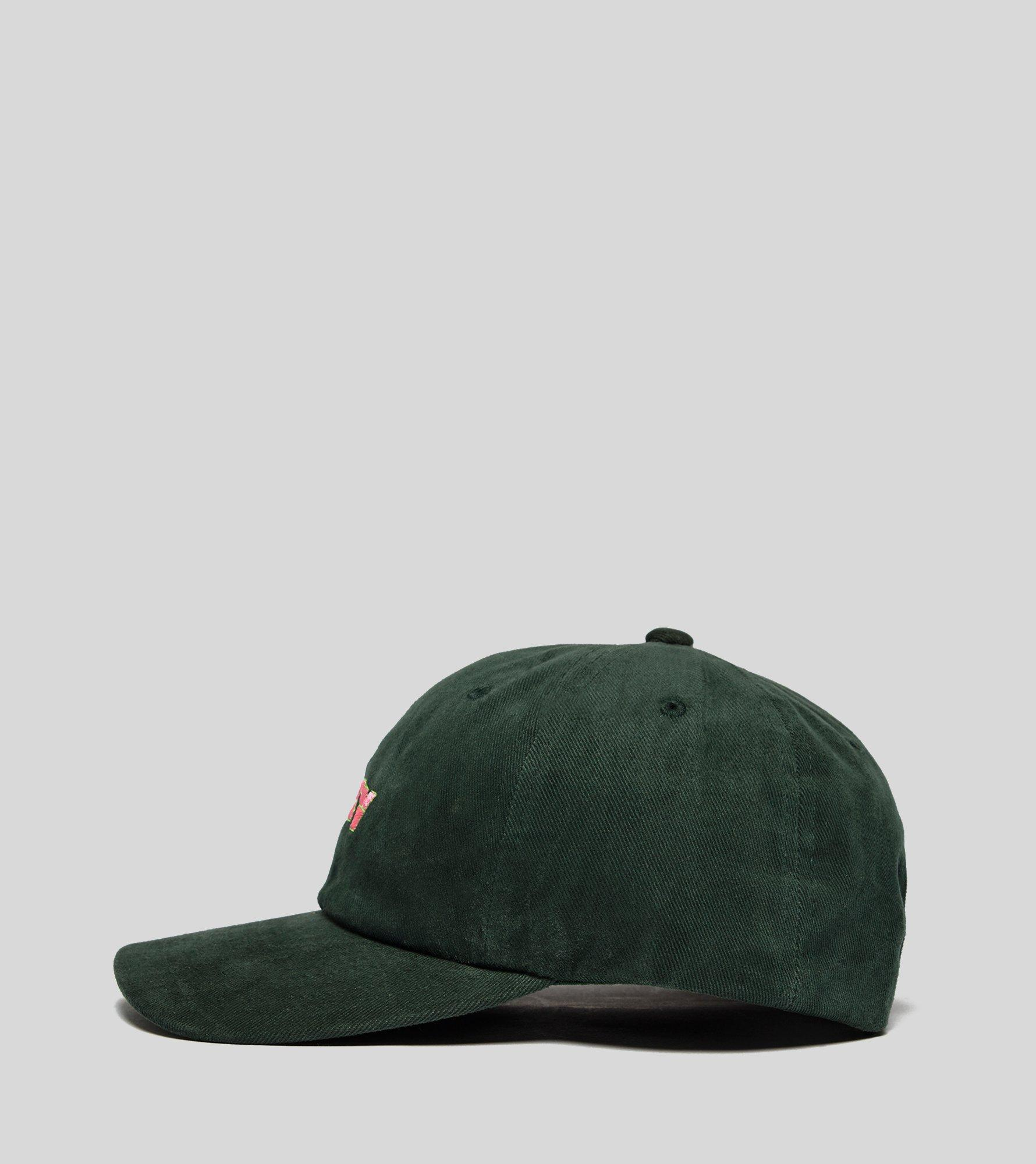 Lyst - Obey Ripped 6 Panel in Green for Men 1b4687e043af