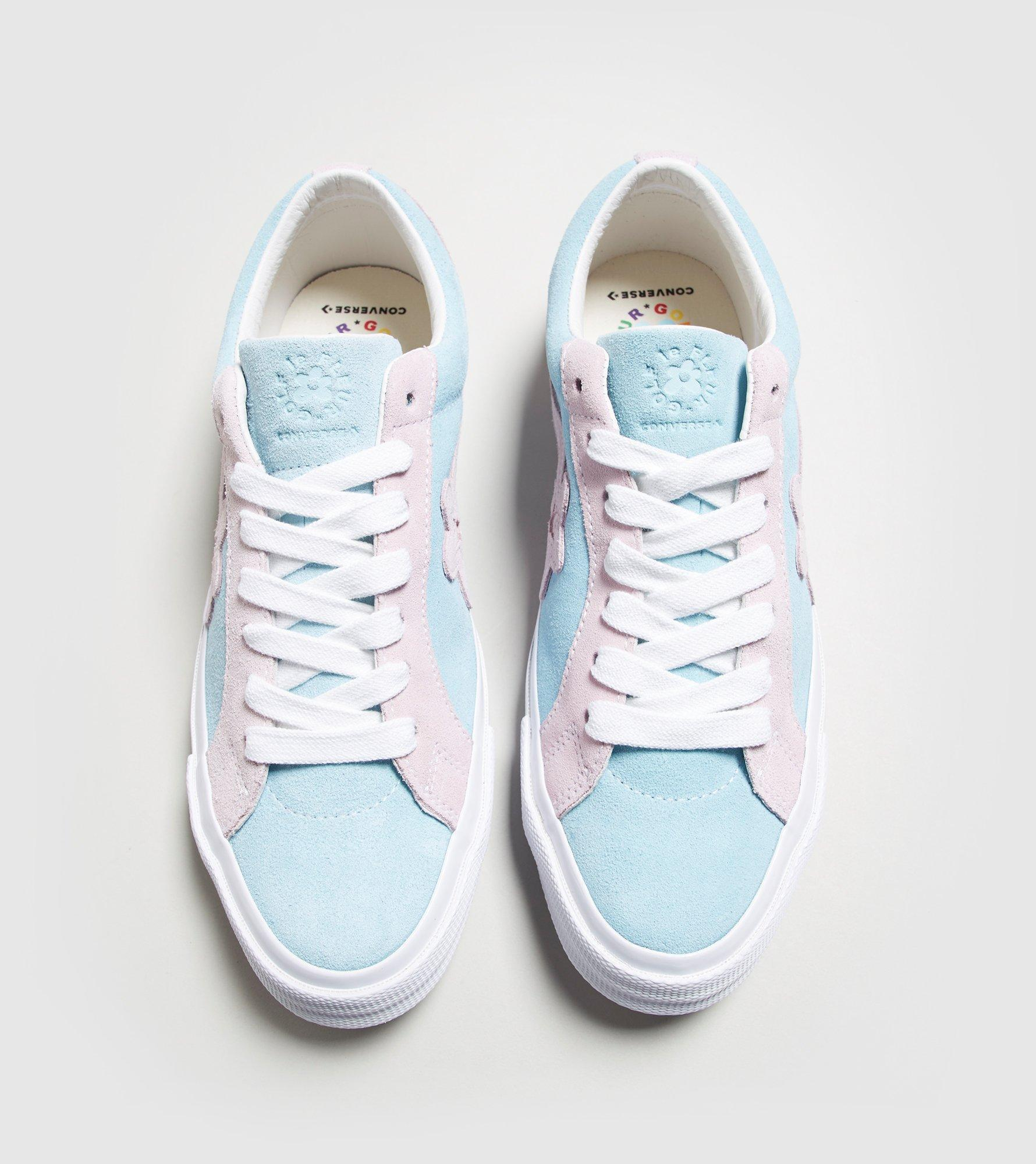 99cd4d1ca3a126 Lyst - Converse X Tyler Golf Le Fleur One Star in Pink for Men
