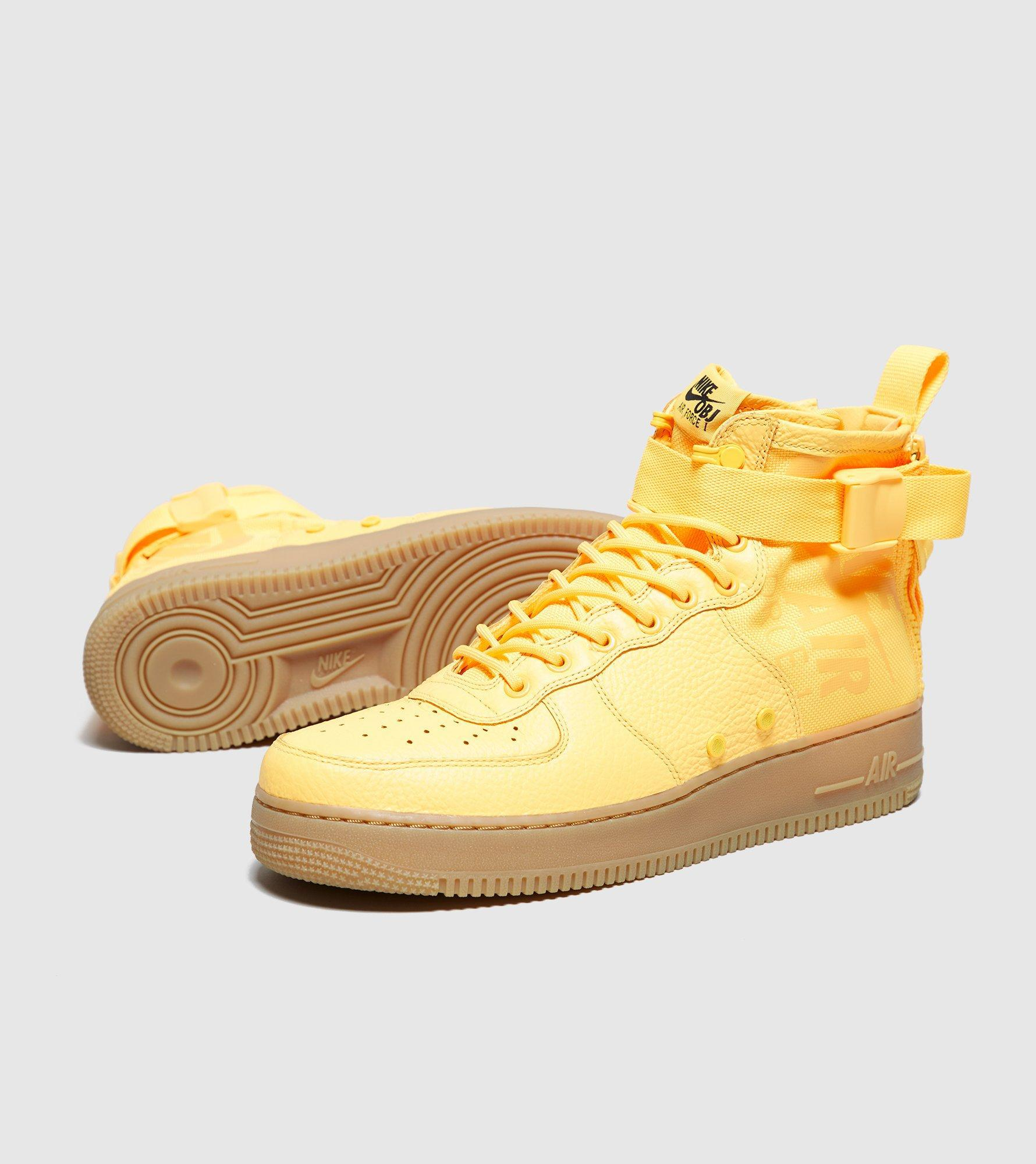 new products 8754a 555f2 Lyst - Nike Sf Air Force 1 Mid in Yellow for Men