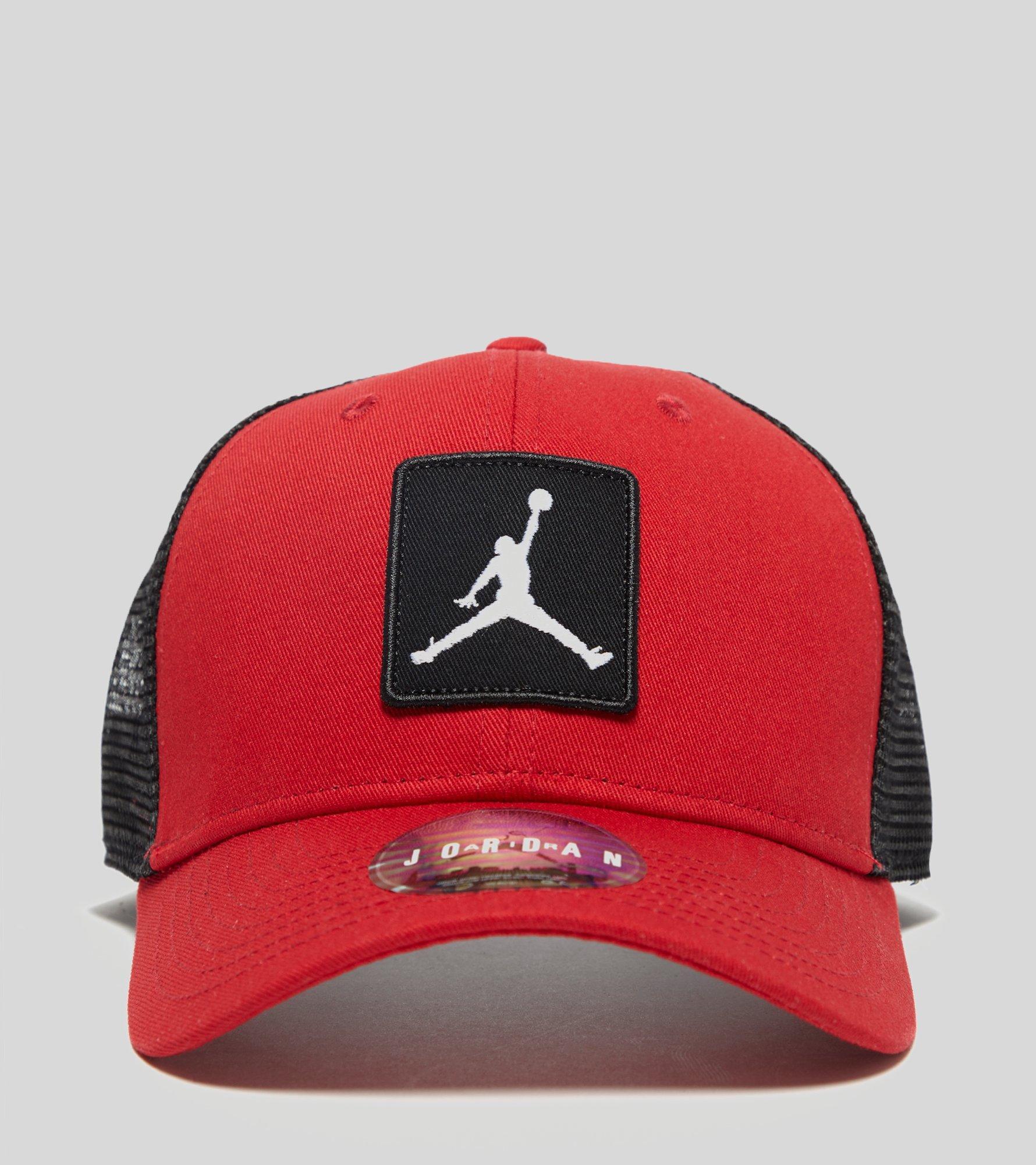 Lyst - Nike Jumpman Classic99 Trucker Cap in Red for Men 73d0c056c22