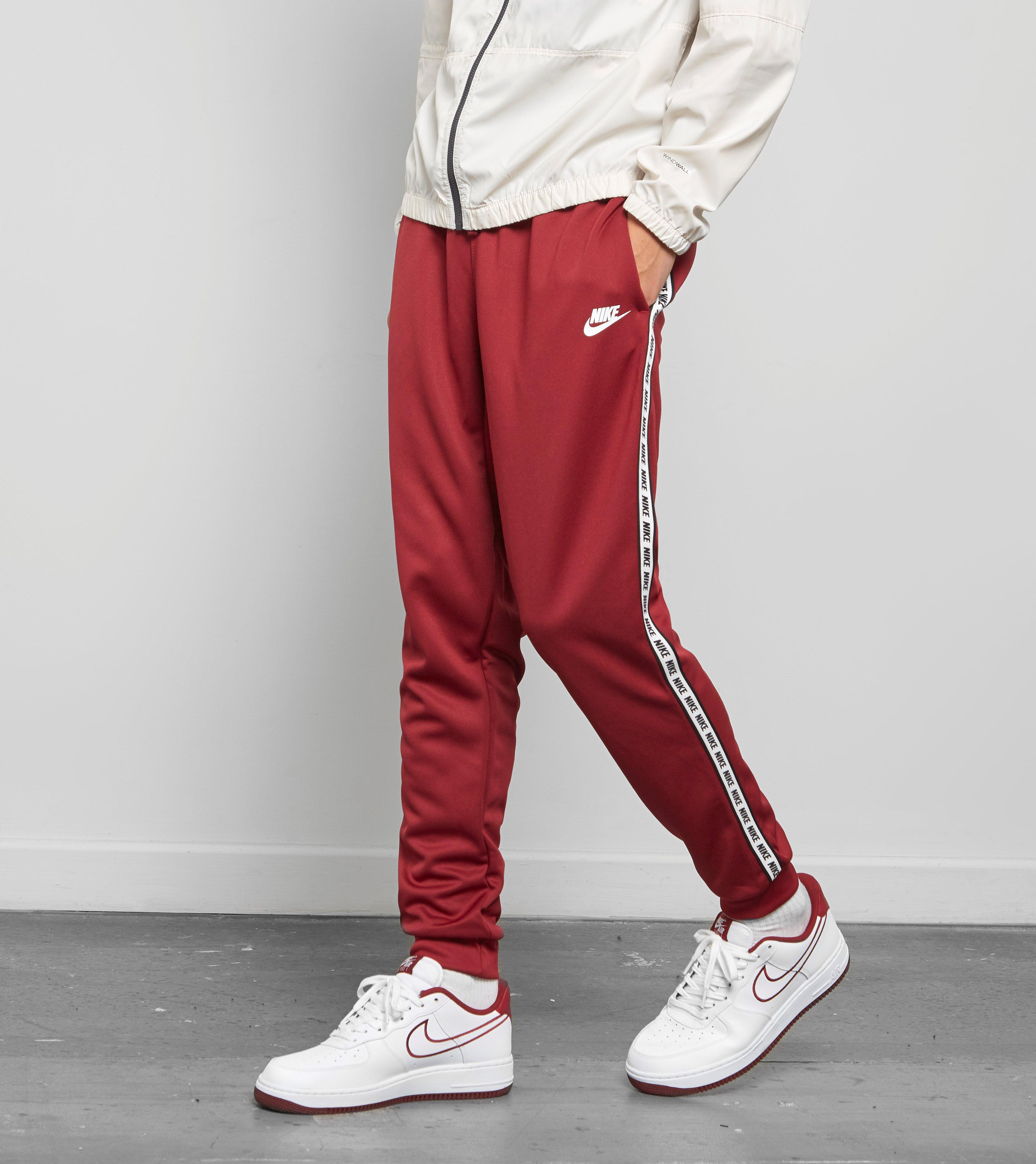 53bb5effd Nike Gel Tape Cuffed Track Pants in Red for Men - Lyst