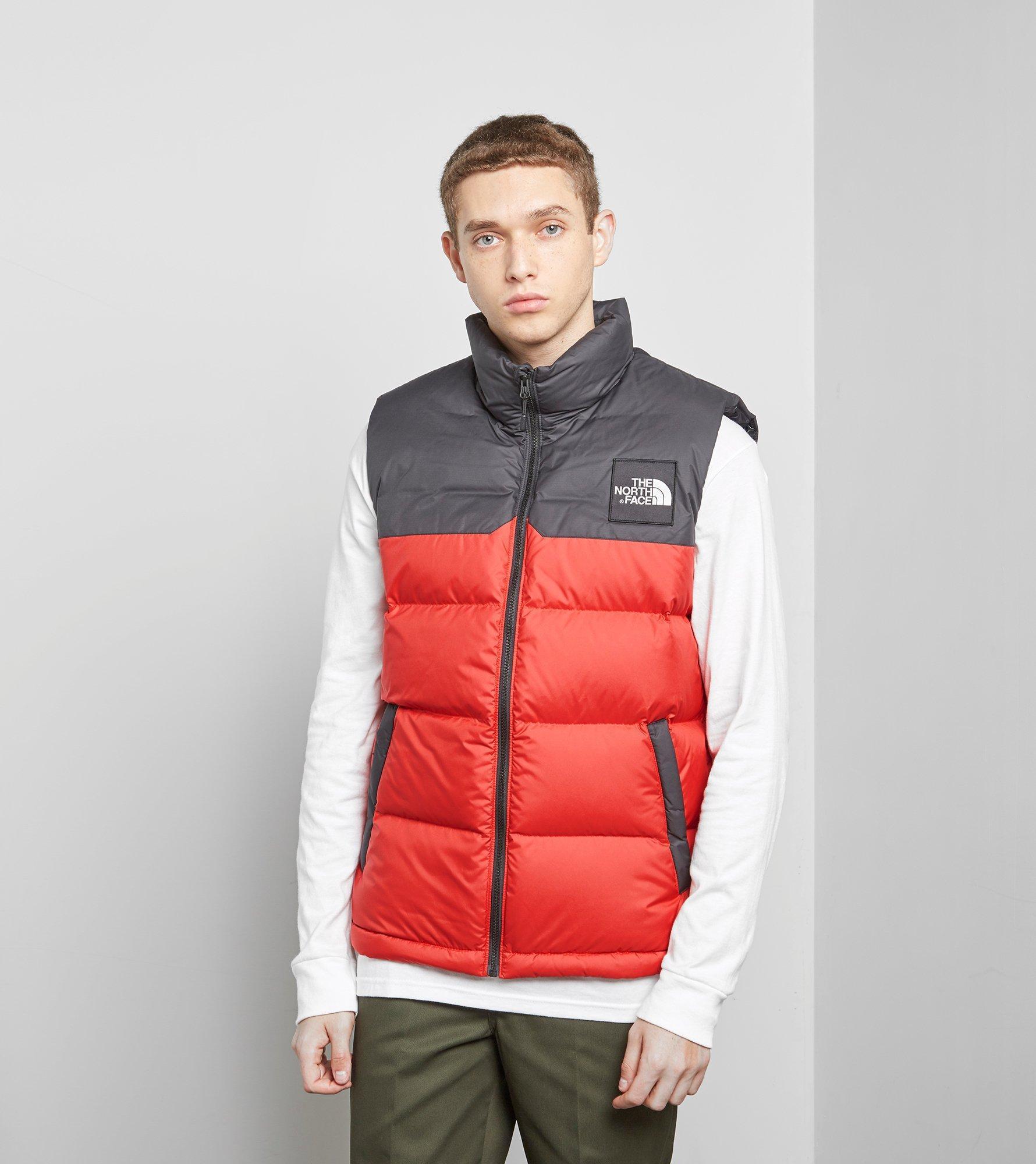 Lyst - The North Face 1992 Nuptse Vest in Red for Men 9f2e45da8
