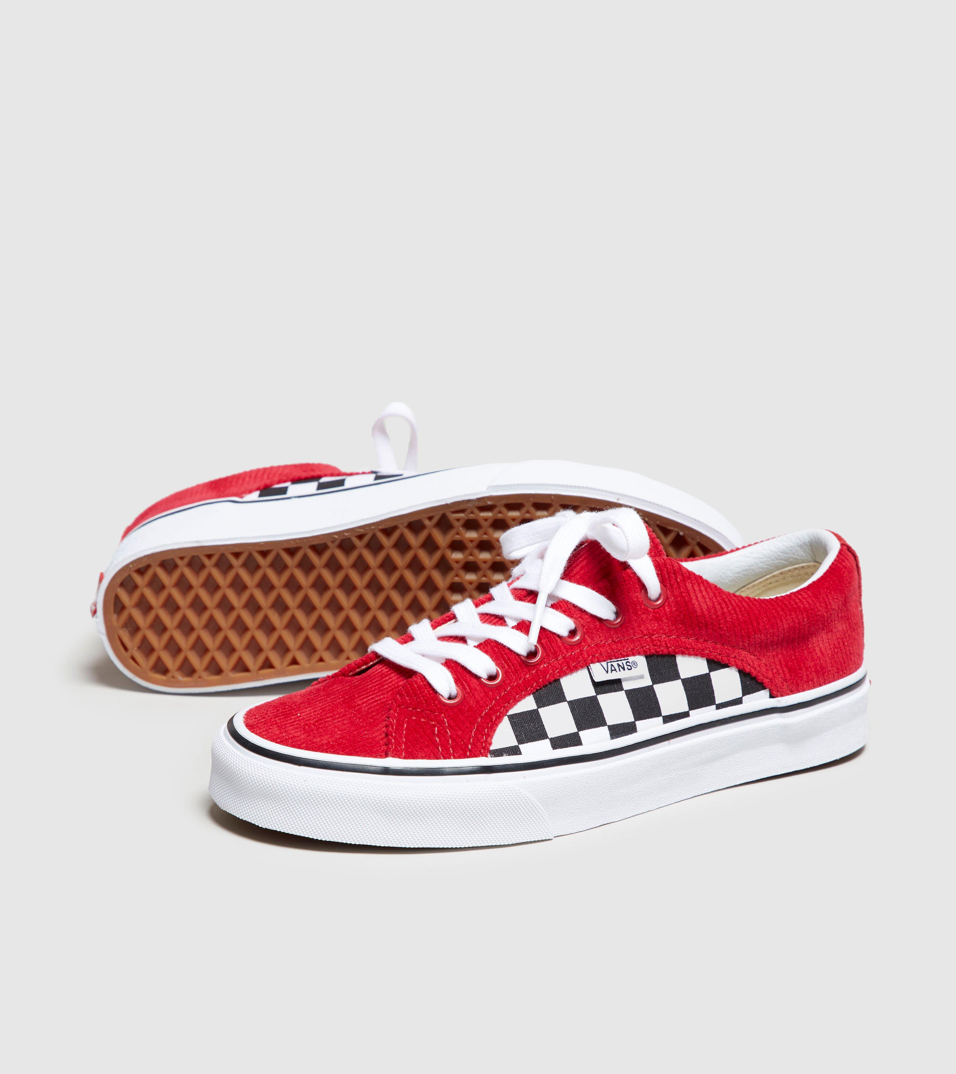 0e746ef4a0c Lyst - Vans Checkerboard Lampin Women s in Red