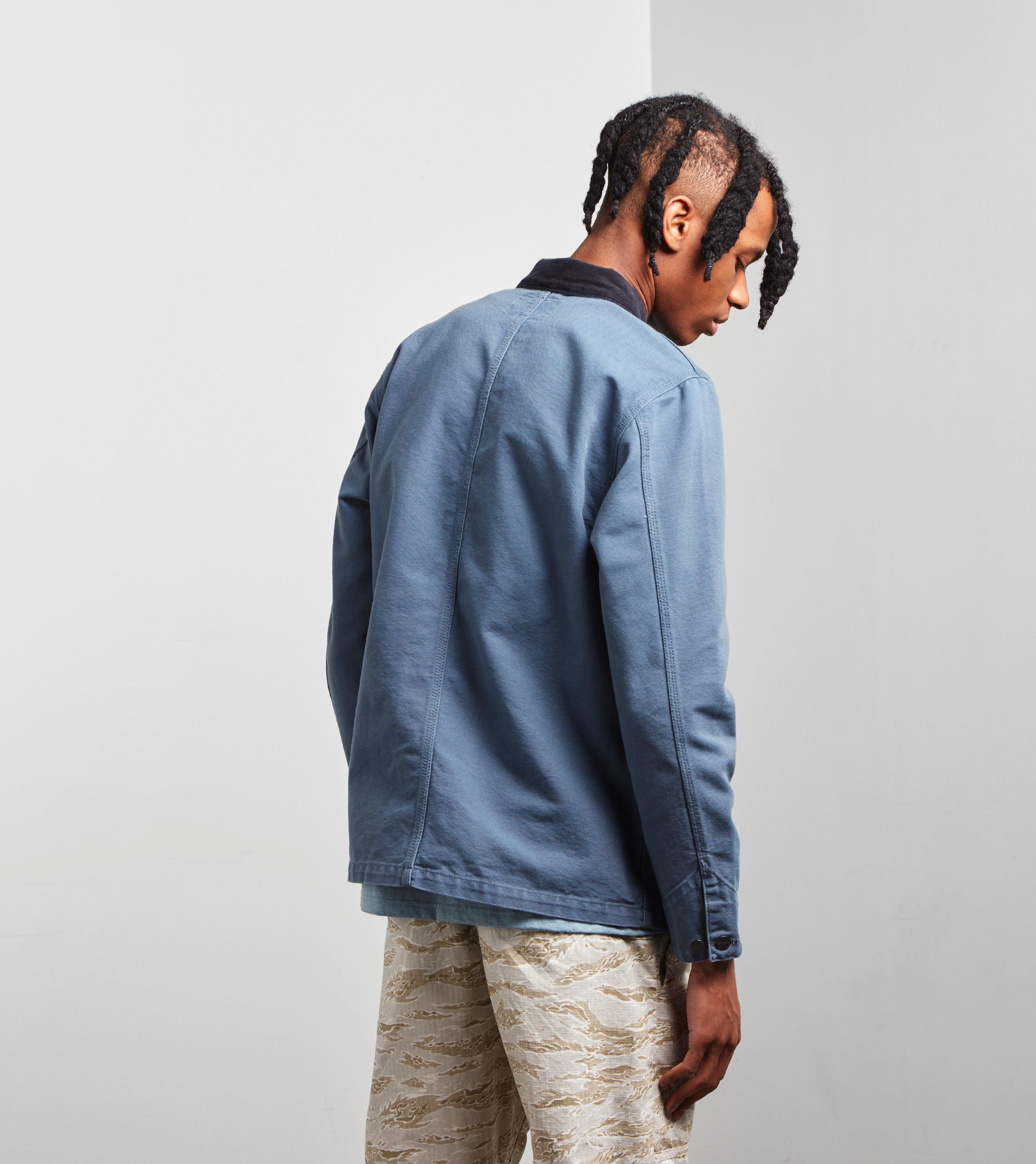 Carhartt Wip Michigan Chore Jacket In Blue For Men