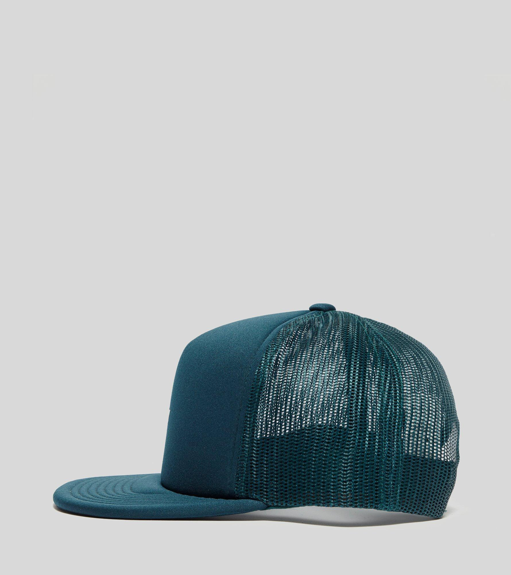 low priced 84744 37ddd Obey Jumble Bar Trucker Cap in Blue for Men - Lyst