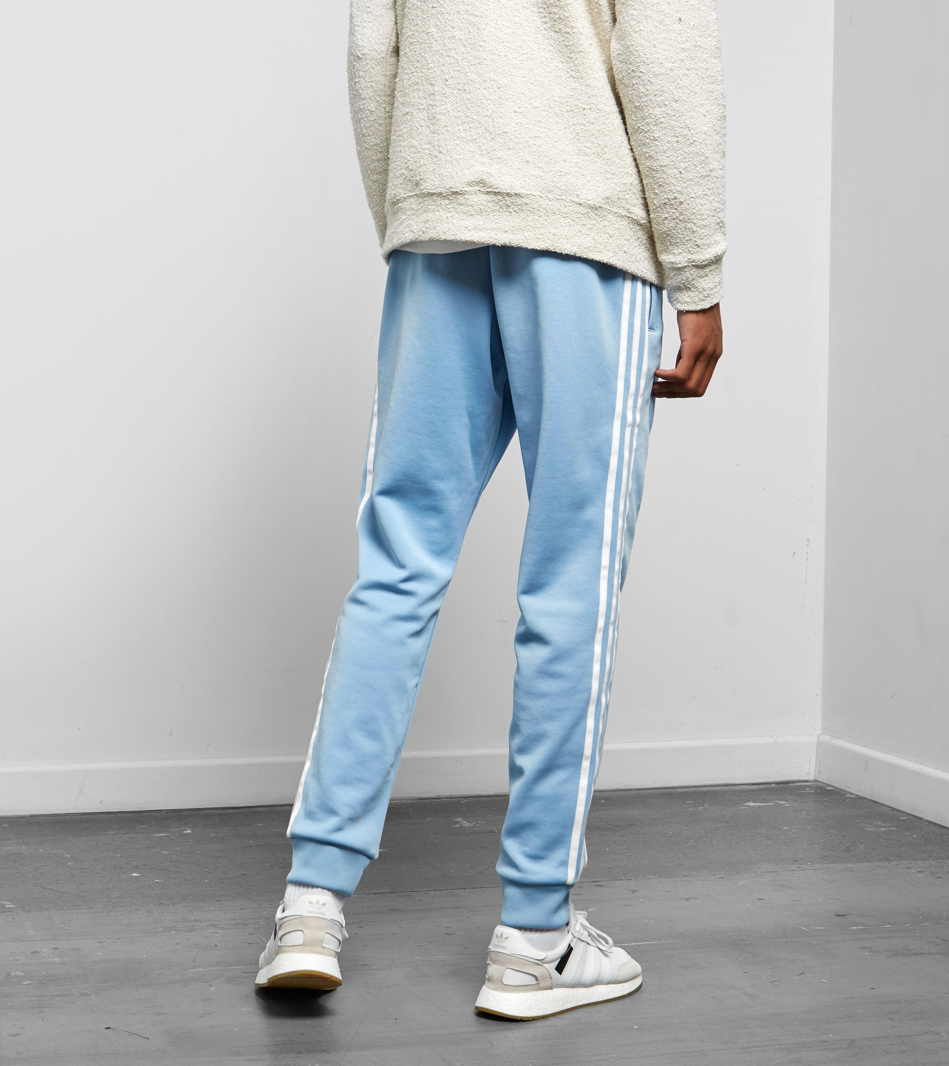 b1a14924595c Lyst - adidas Originals Superstar Track Pants in Blue for Men