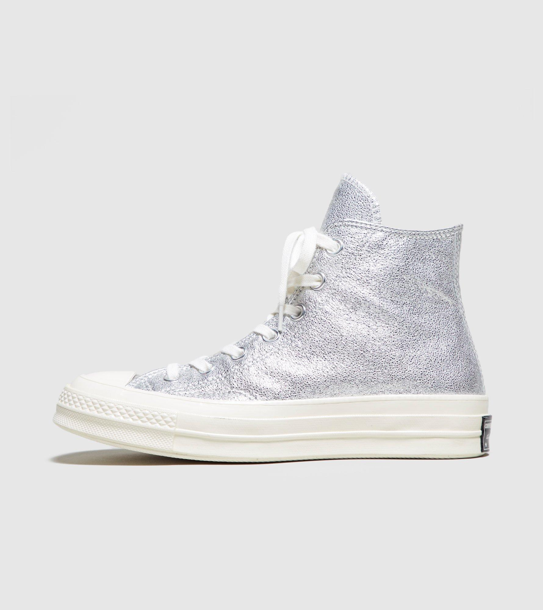 4819690bb98580 Lyst - Converse Chuck Taylor All Star 70 s High Women s in Metallic