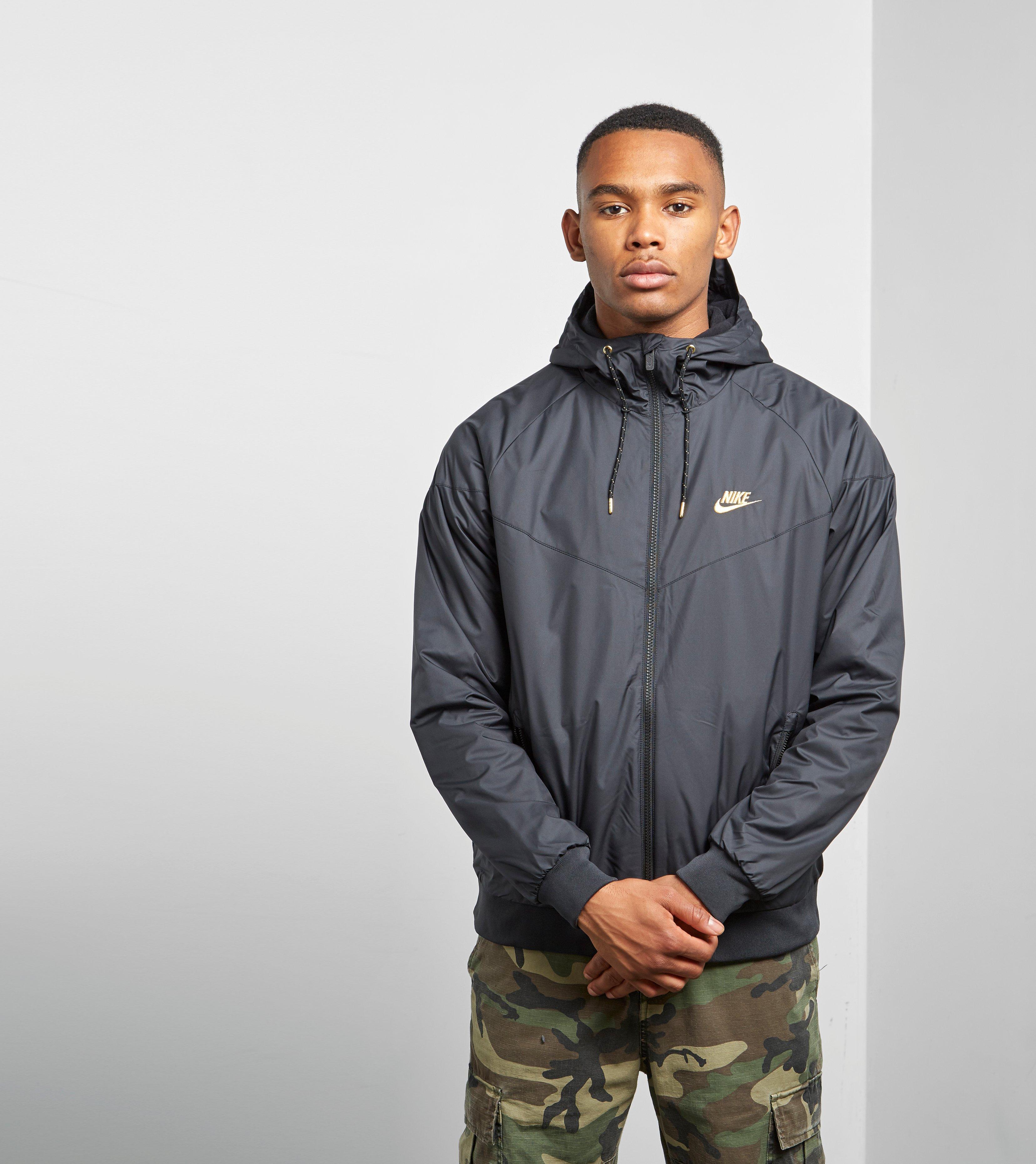... big sale 4c103 d4a11 Nike Windrunner Jacket In Black For Men Lyst ... 6d876e7ce