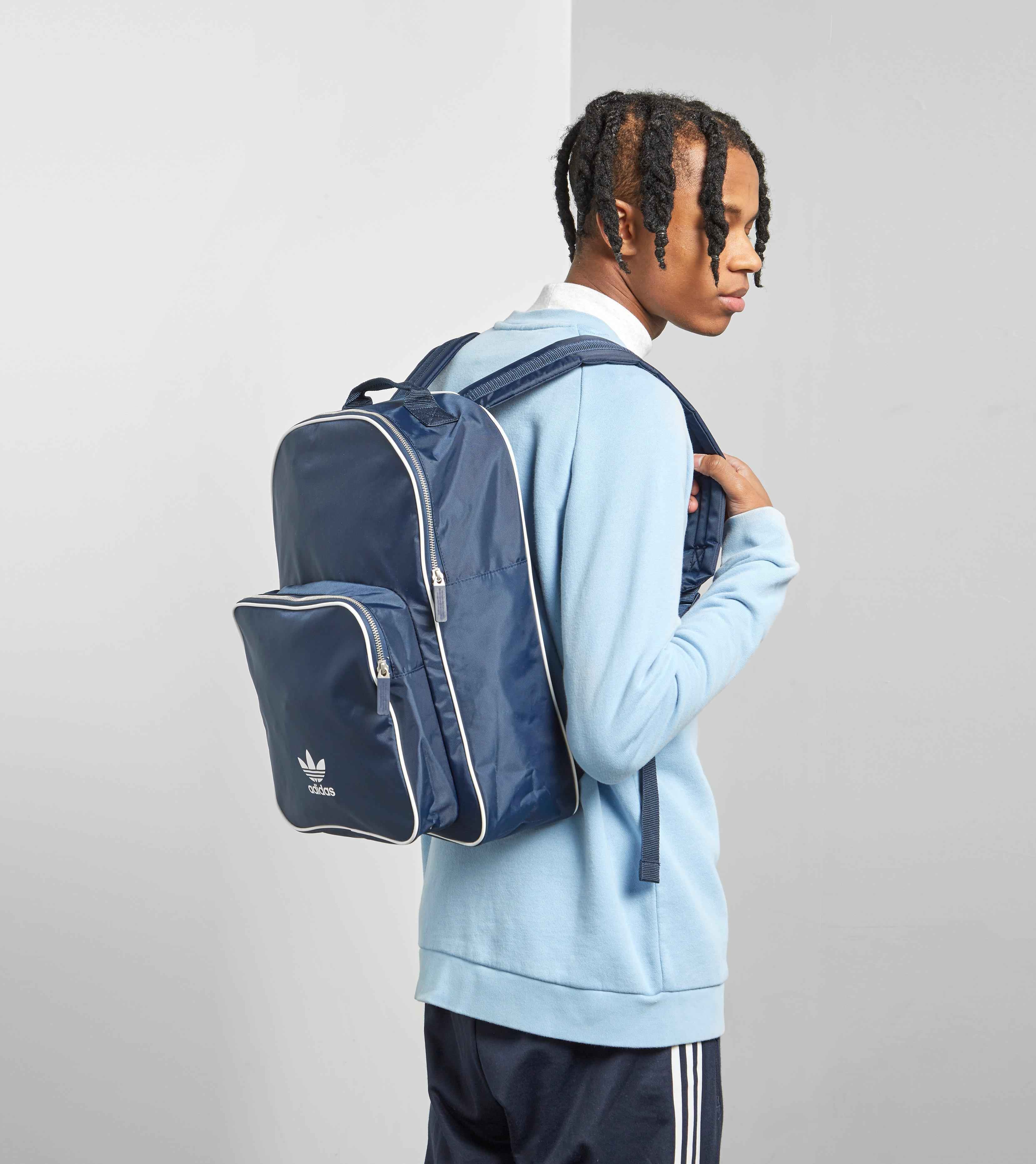 6e2195f598b adidas Originals Adicolor Backpack in Blue for Men - Lyst