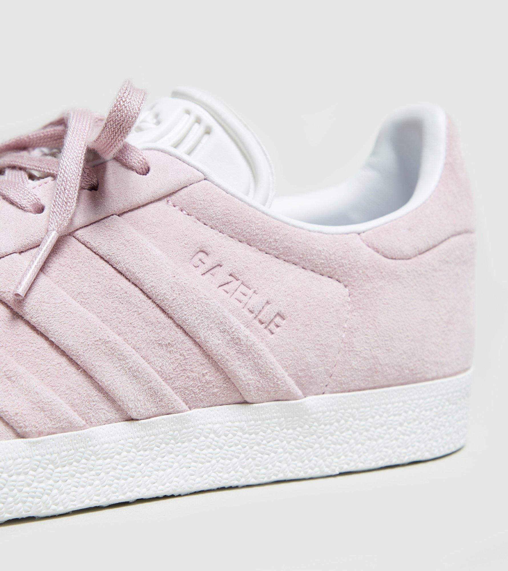 lyst adidas originals gazelle stitch und frauen in pink