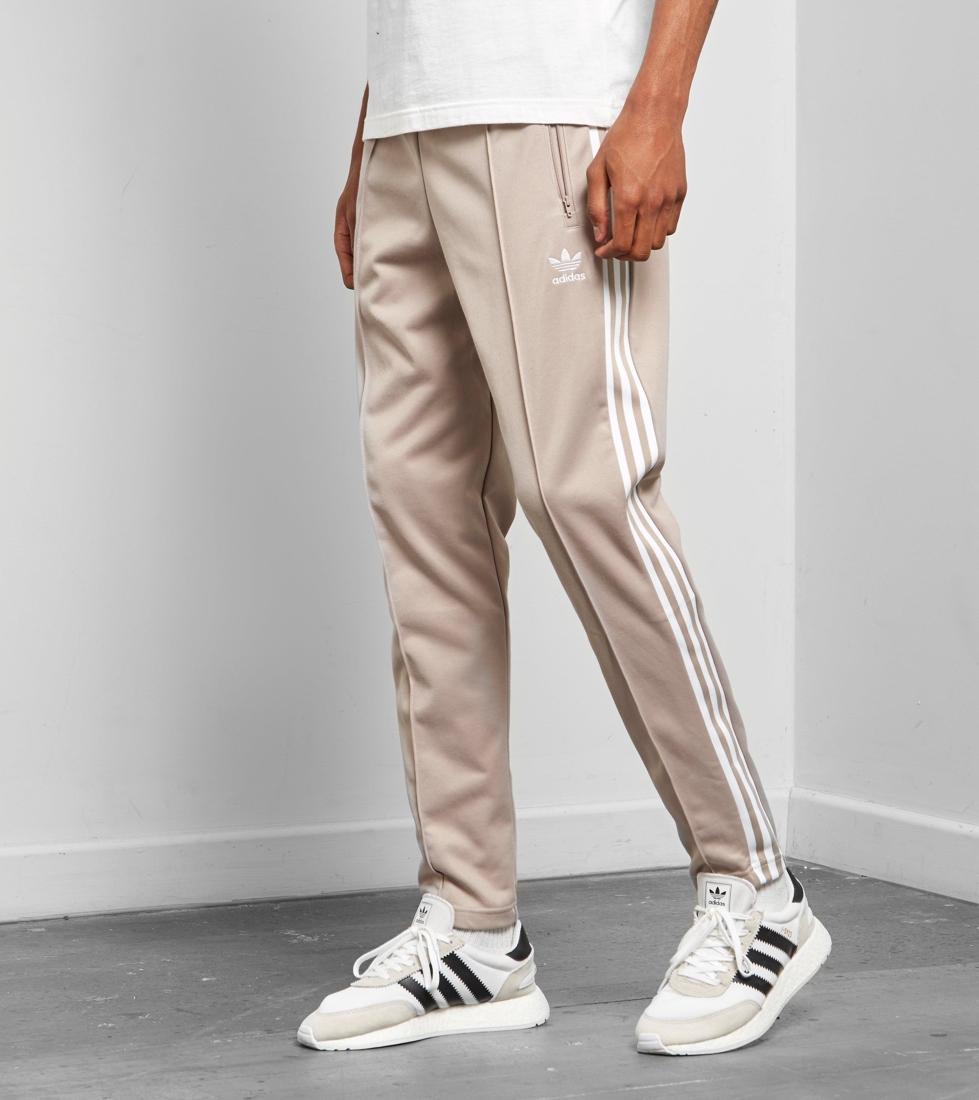 4d95ddfec2e Lyst - adidas Originals Beckenbauer Cuffed Track Pants in Gray for Men