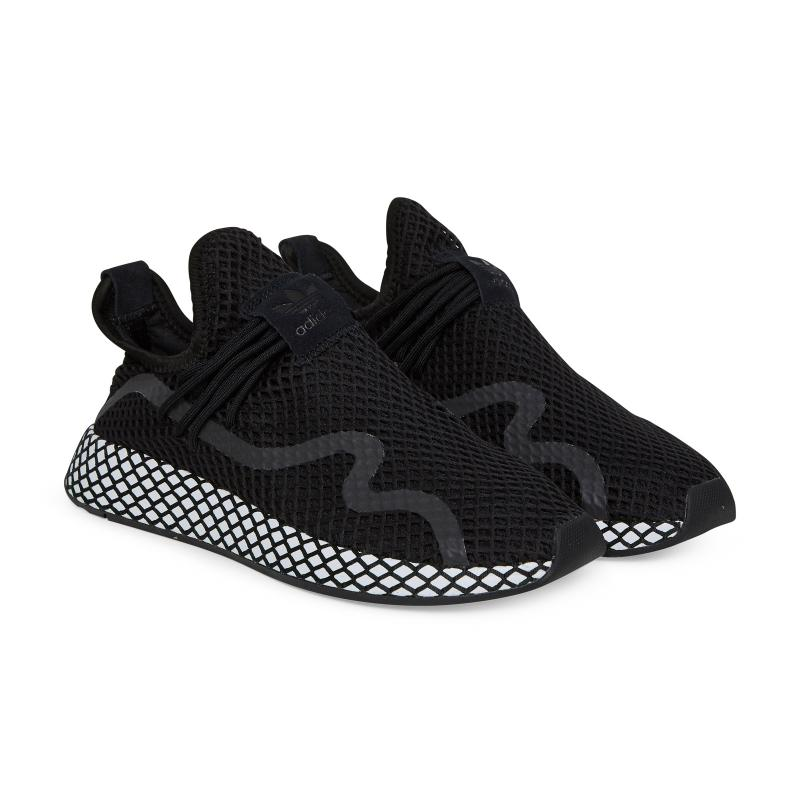 236b96b668e36 Adidas Originals - Black Deerupt S Sneakers for Men - Lyst. View fullscreen