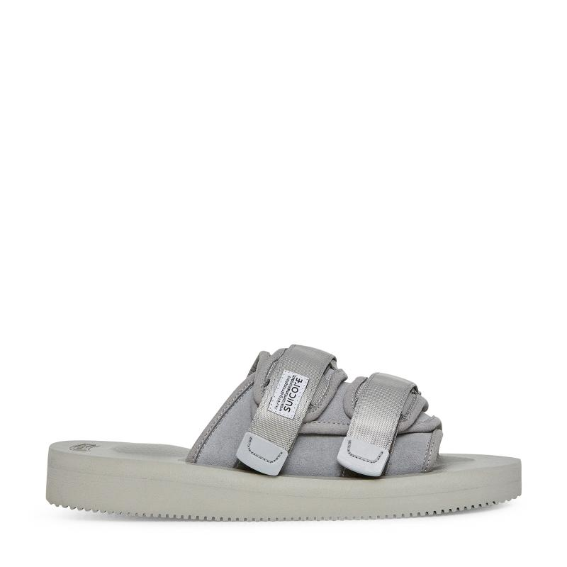 38a068bad06c Lyst - Suicoke Moto-vs Slippers in Gray for Men - Save 7%