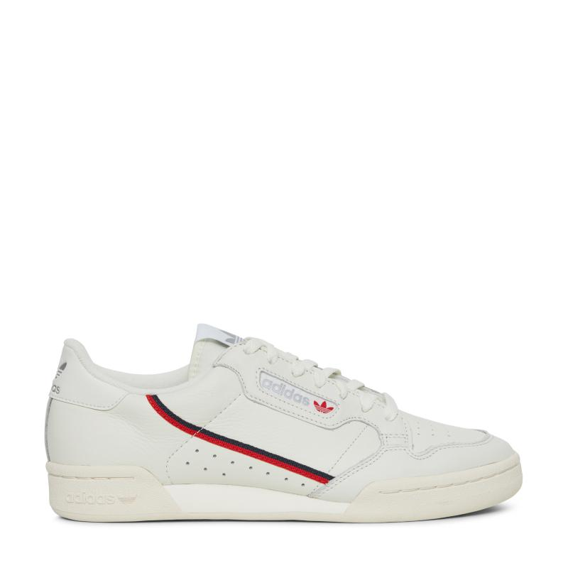 Continental 80 Grosgrain-trimmed Leather Sneakers - White adidas Originals Es3EEaY8