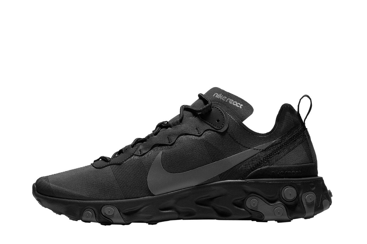 4a441dc26063 Lyst - Nike Nike React Element 55 in Black for Men - Save 48%