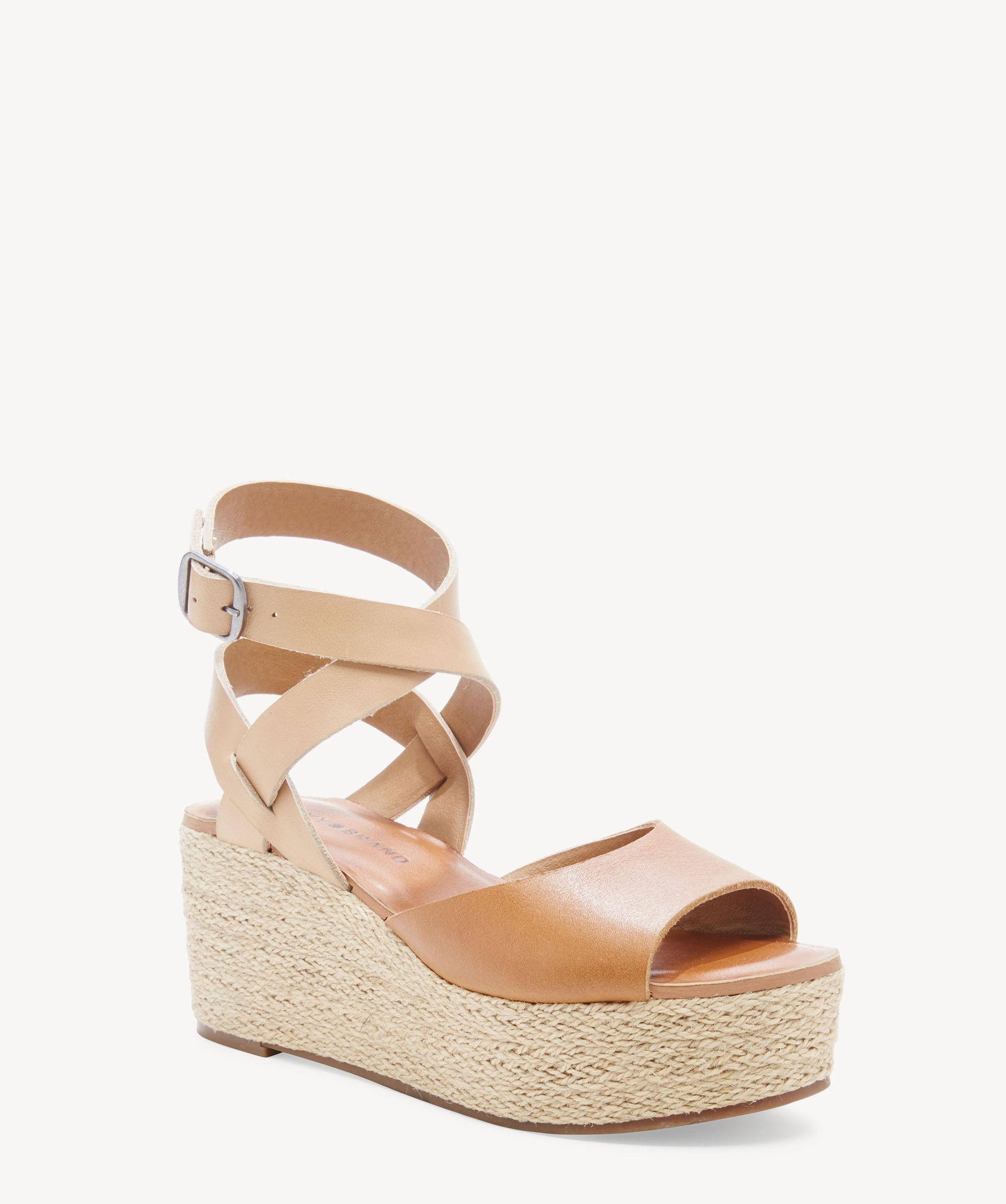 690bb9a2b Lucky Brand - Natural Ginny Espadrille Platform Wedge - Lyst. View  fullscreen