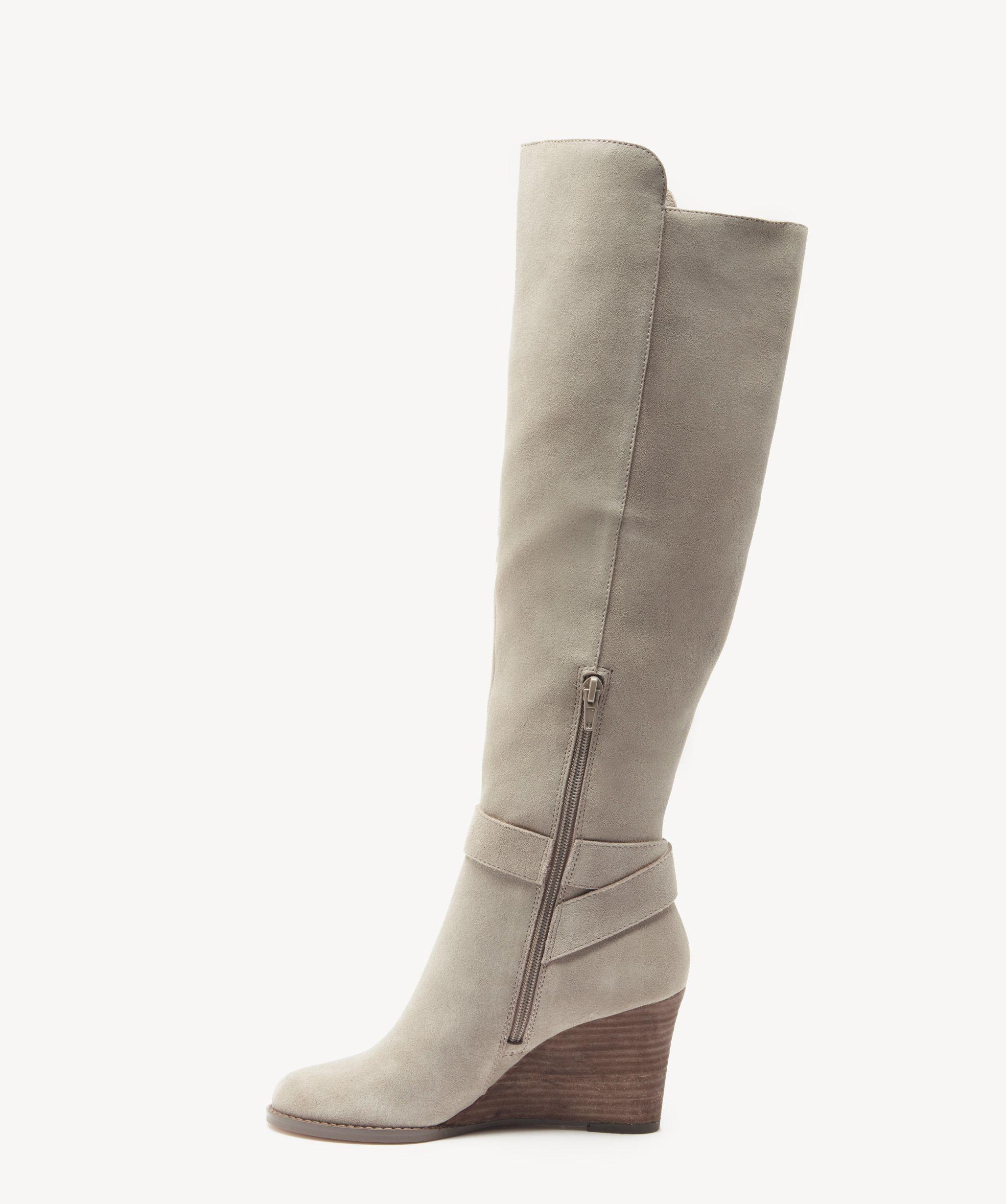 5183ce72d7c Lyst - Sole Society Paloma Wedge Boot