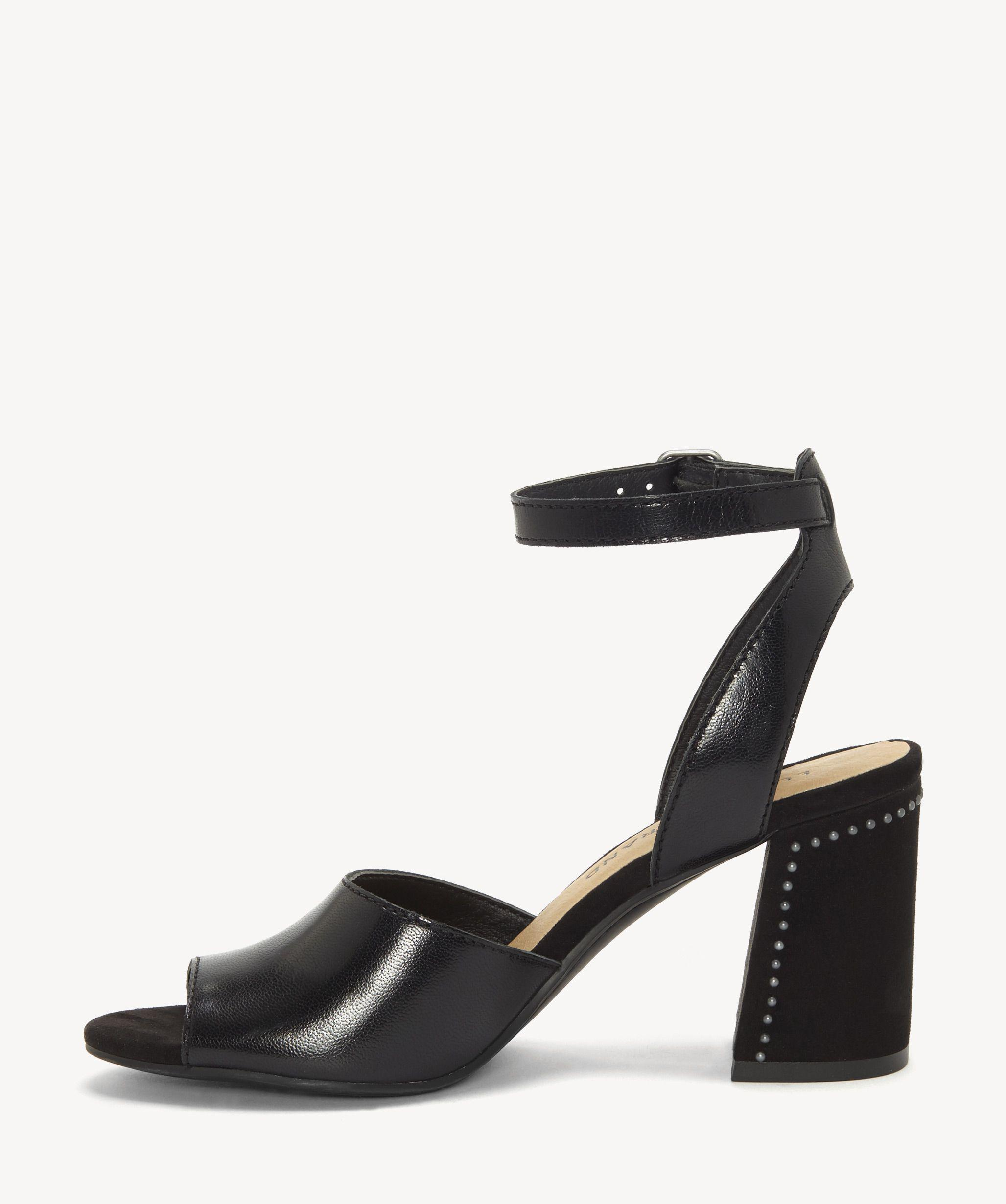Lyst Lucky Brand Womens Verlena Ankle Strap Sandal In Black Catriona Nolie Backpack Save 24468085106382972
