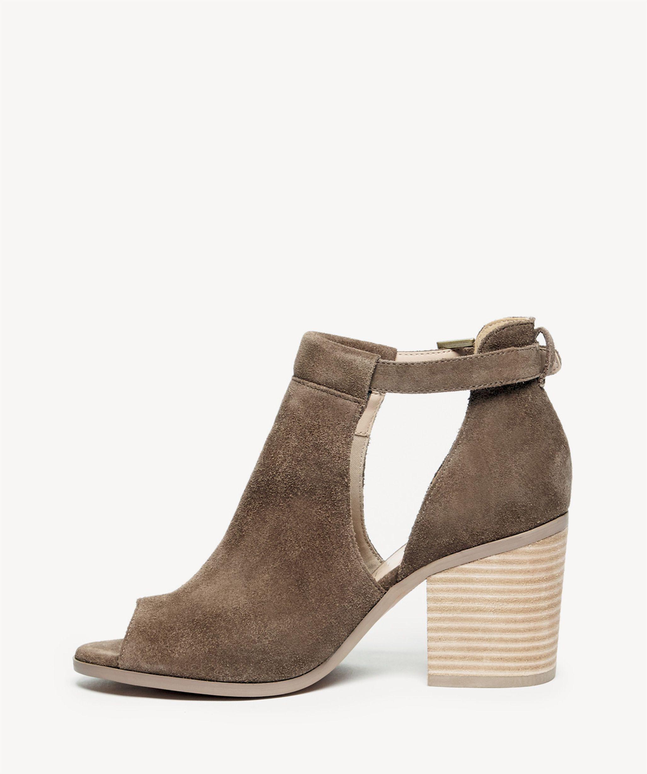 630192ba2186 Lyst - Sole Society Ferris Block Heel Sandal in Brown