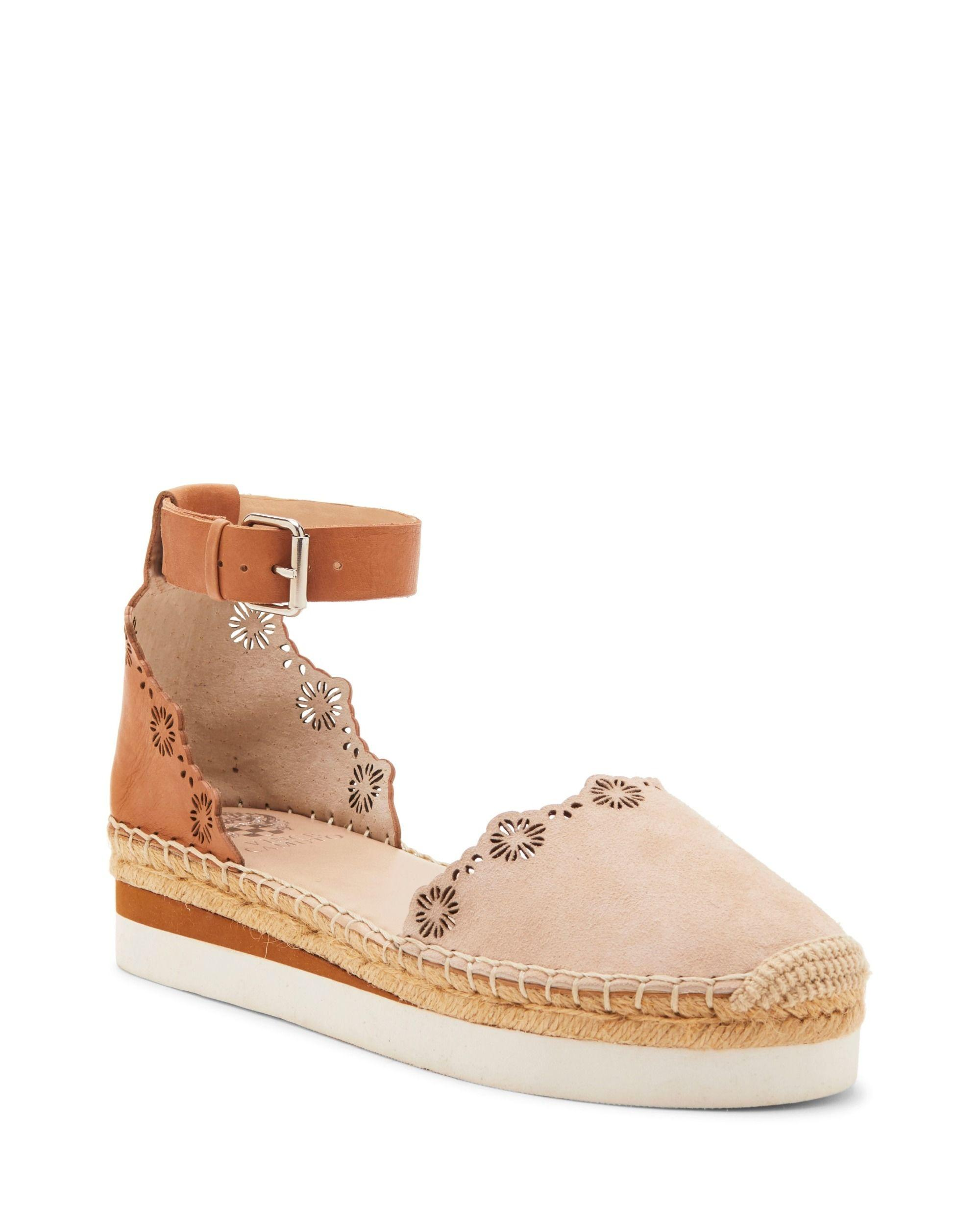 cfbe8e6e83c Lyst - Vince Camuto Breshan Espadrille Flat in Brown - Save 1%