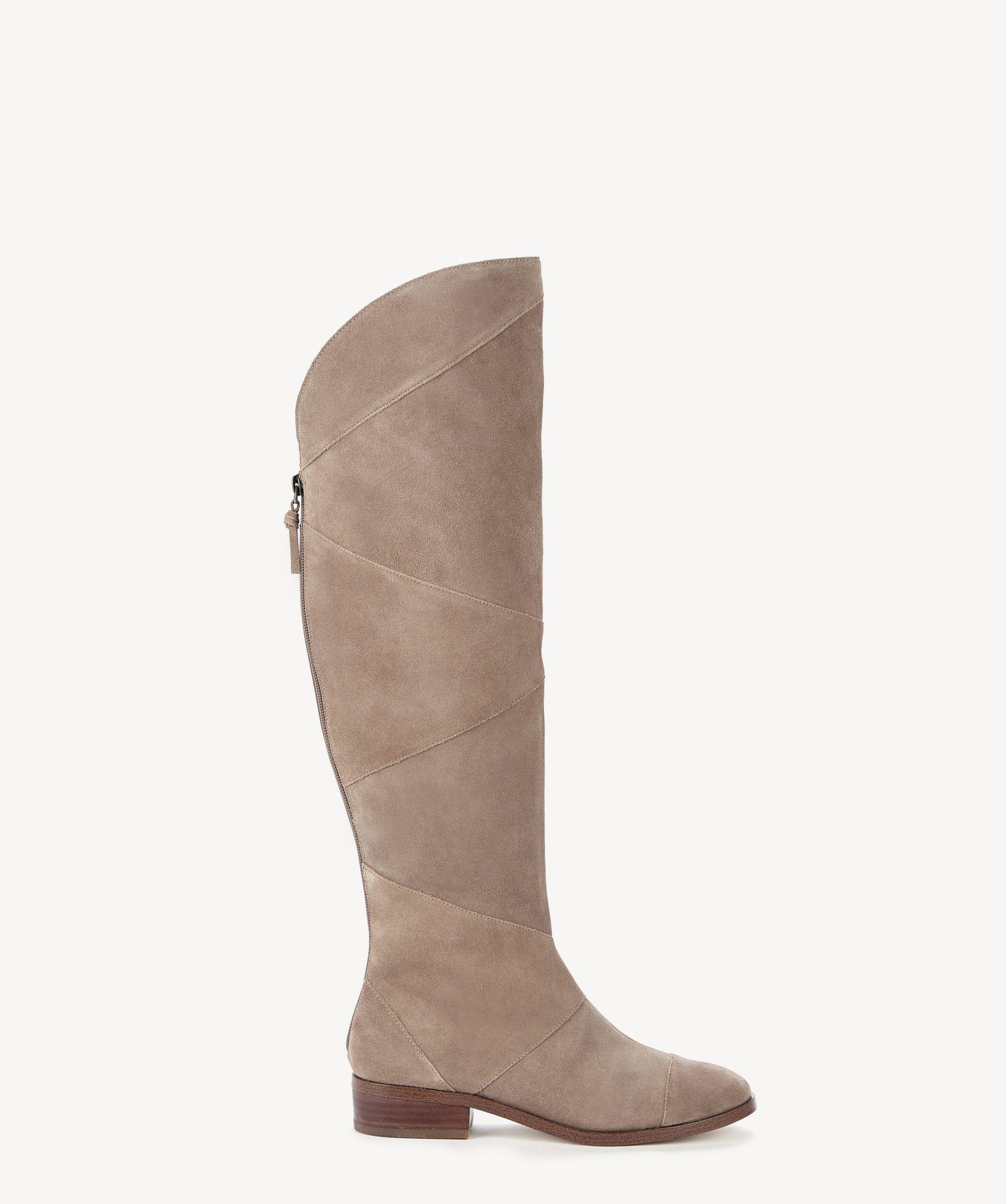 813487c3f20 Lyst - Sole Society Tiff Otk Boot in Brown