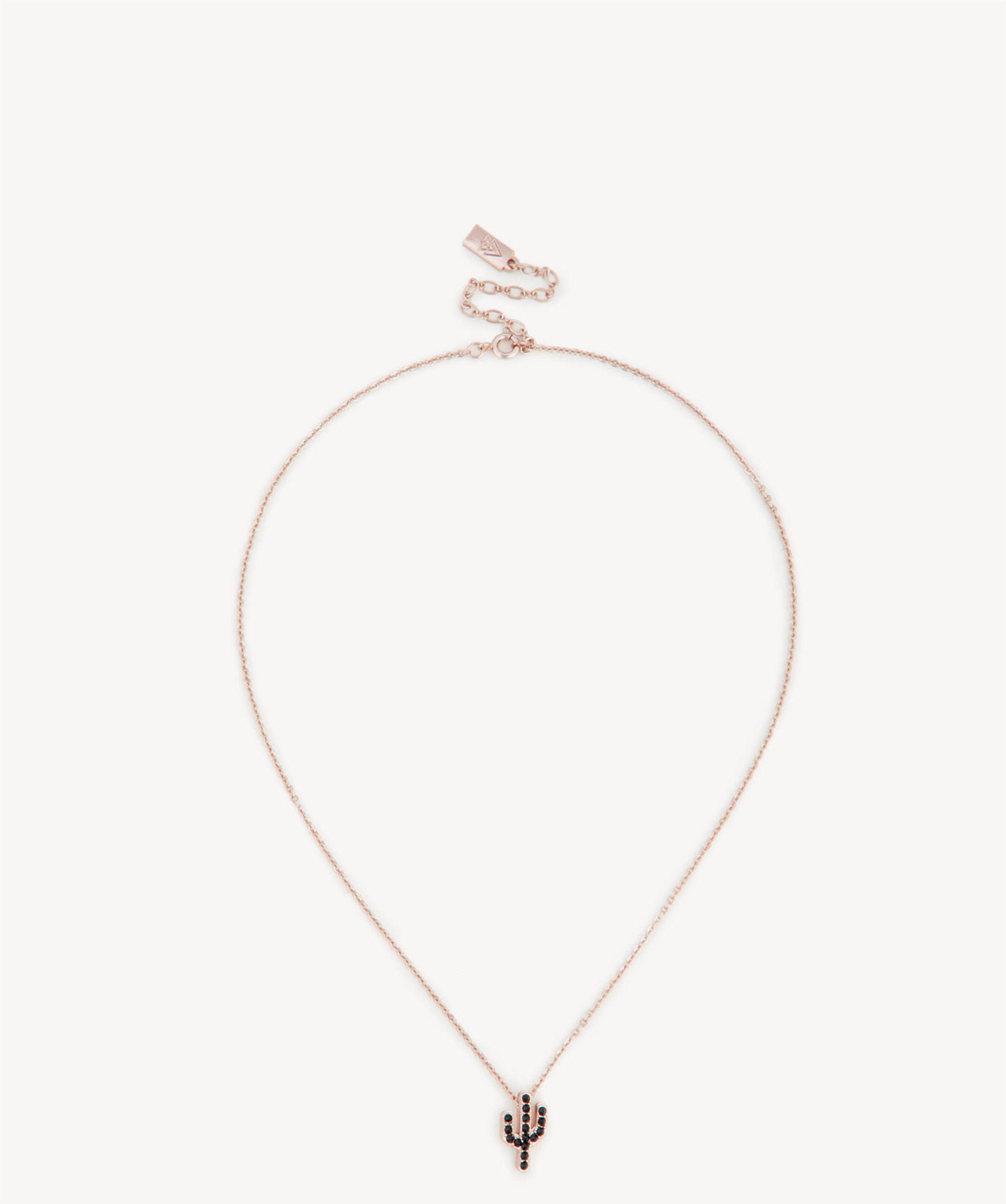 Sole Society Womens Cactus Necklace Rose Gold One Size From Sole Society GP70I0g