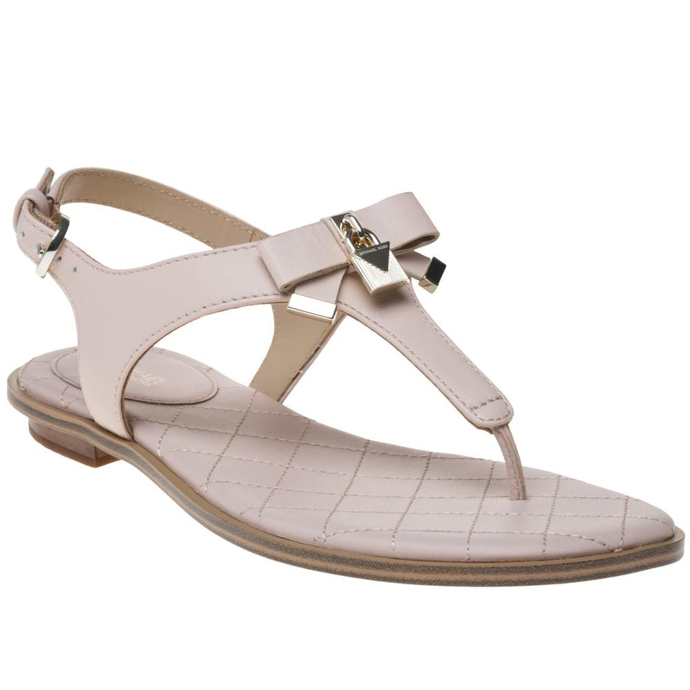 c1f1ba31c Michael Kors Alice Thong Sandals in Pink - Lyst