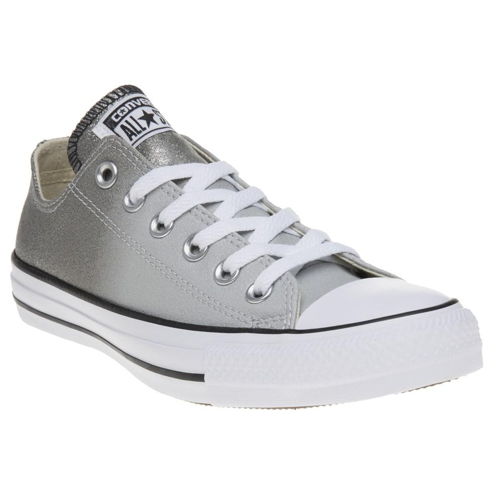 ab8f2d4141d0ef Converse All Star Ox Trainers in Gray - Lyst