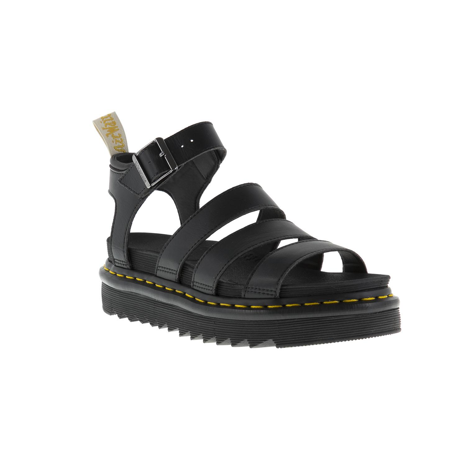 b0384340ef8 Dr. Martens Blaire Sandals in Black - Lyst